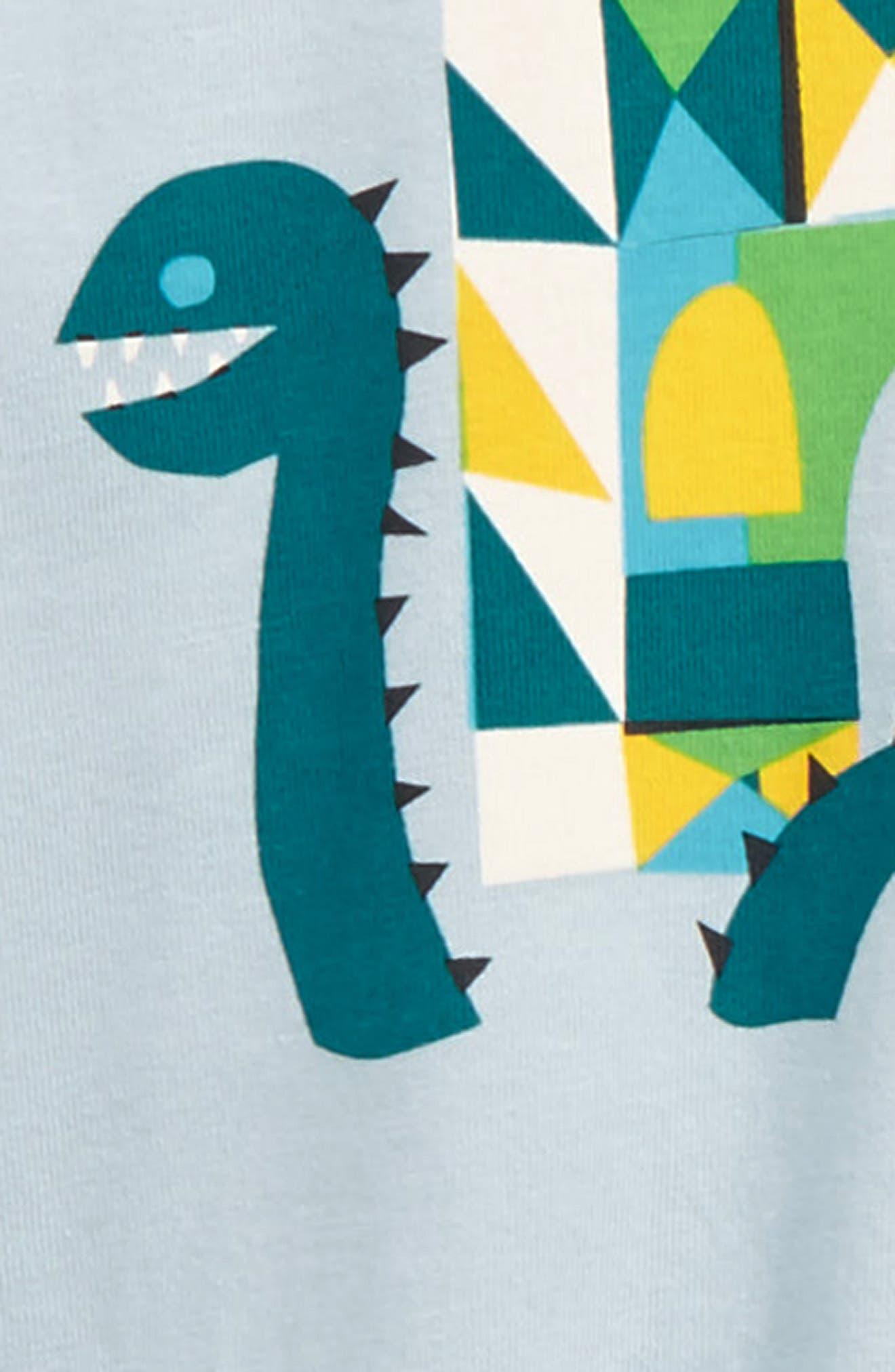 Alternate Image 2  - Tea Collection Loch Ness T-Shirt & Cargo Pants Set (Baby Boys)