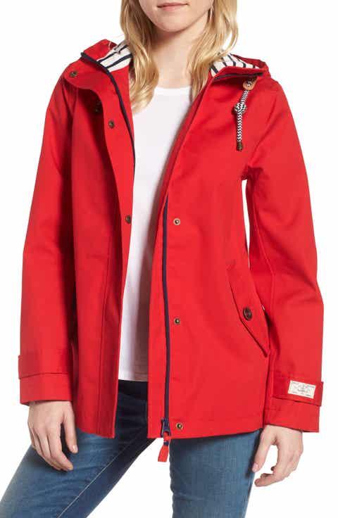 Women's Red Raincoat Coats & Jackets | Nordstrom
