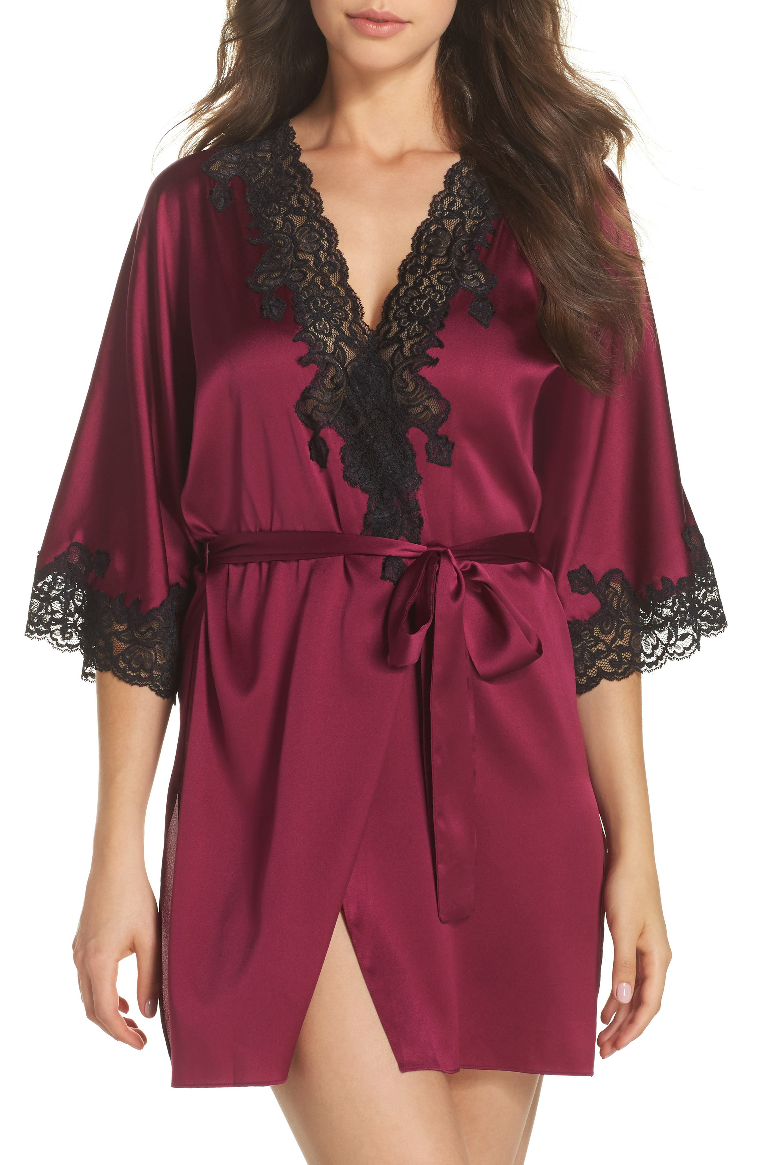 Christine Lingerie Stretch Silk Robe