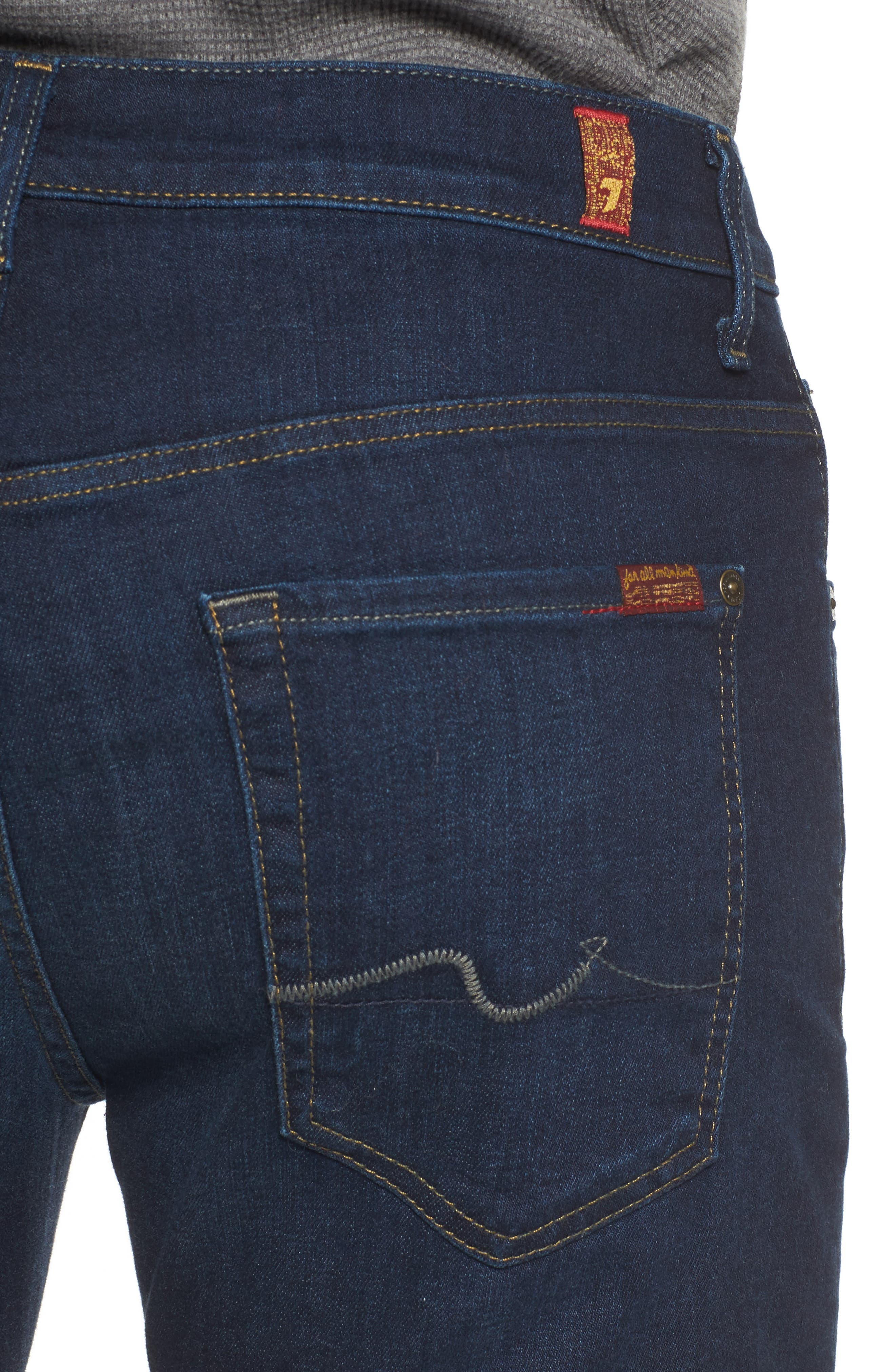 Alternate Image 4  - 7 For All Mankind® Austyn Relaxed Fit Jeans (After Hours)