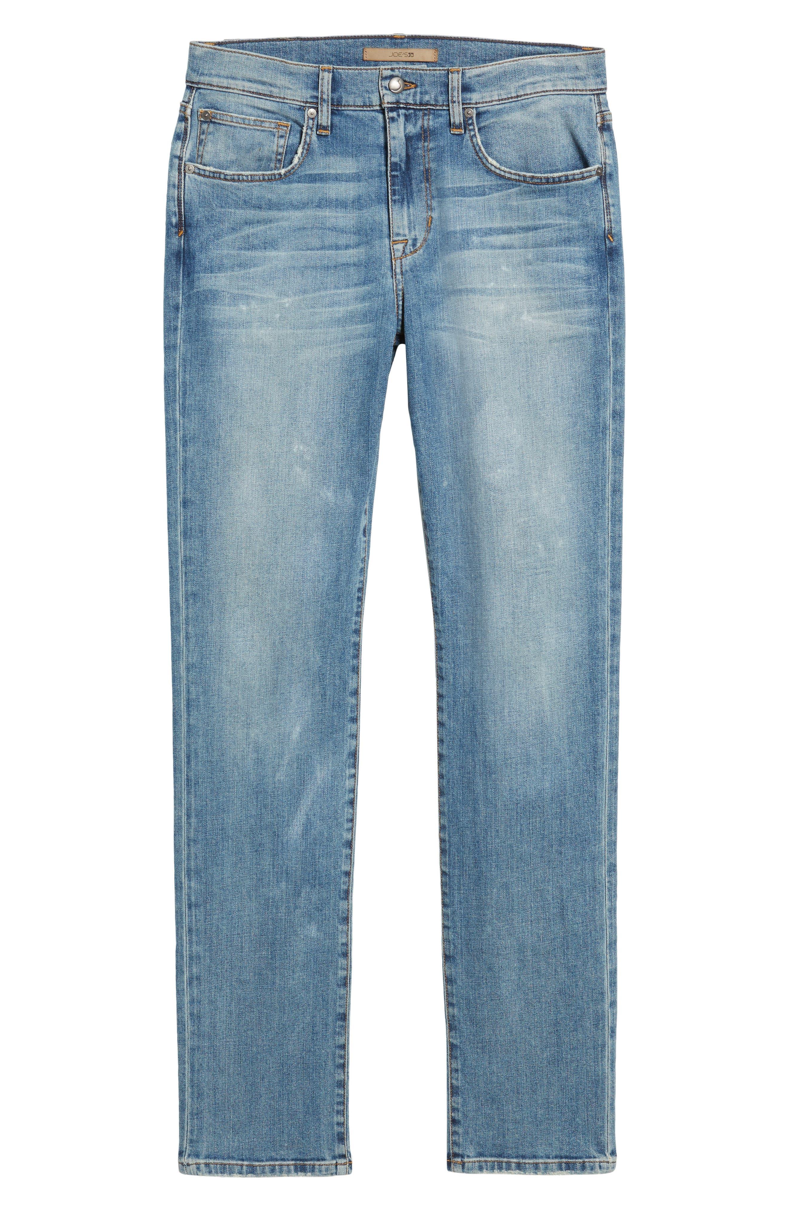 Brixton Slim Straight Fit Jeans,                             Alternate thumbnail 6, color,                             Wyman