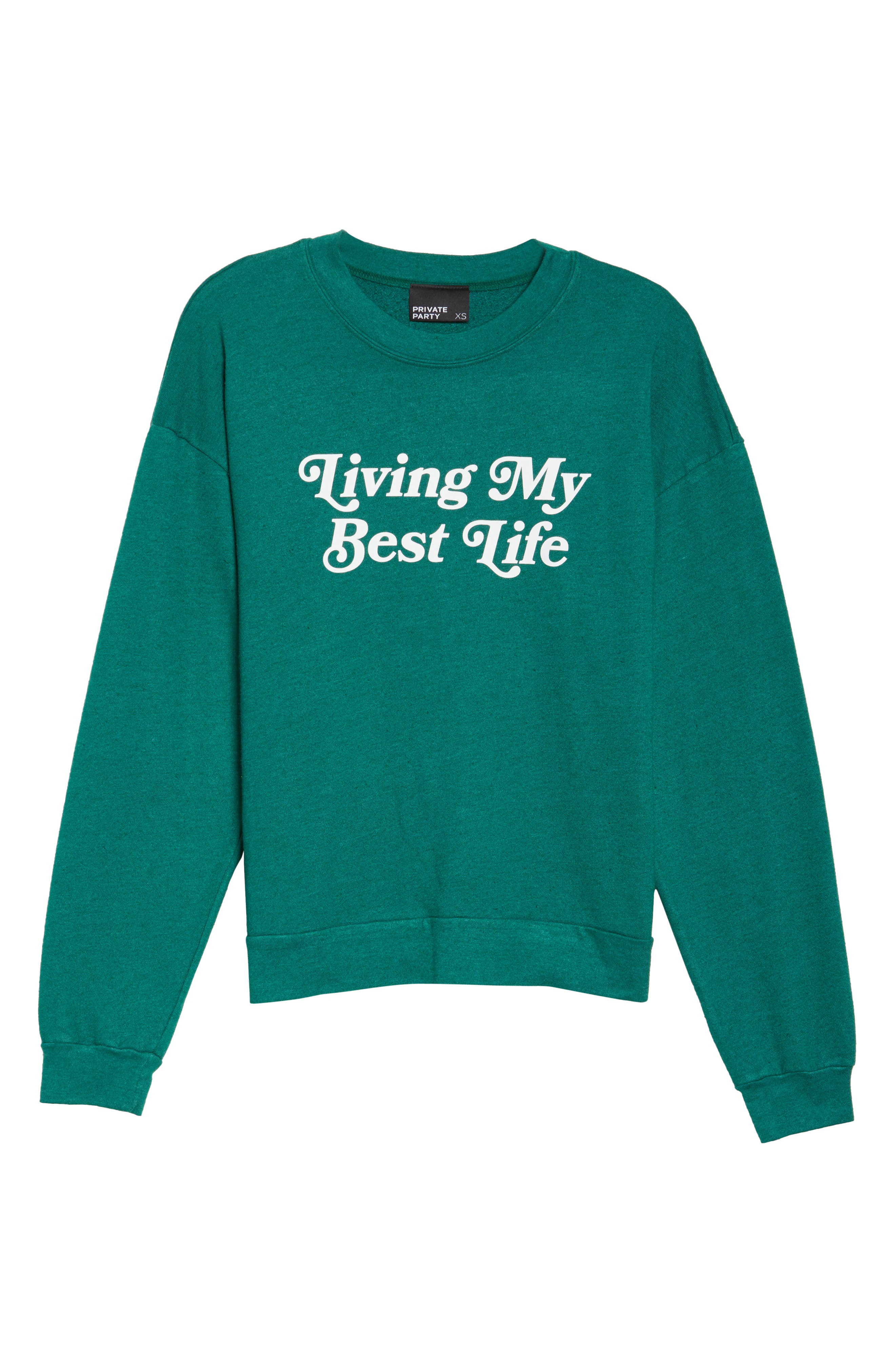 Alternate Image 7  - Private Party Living My Best Life Sweatshirt