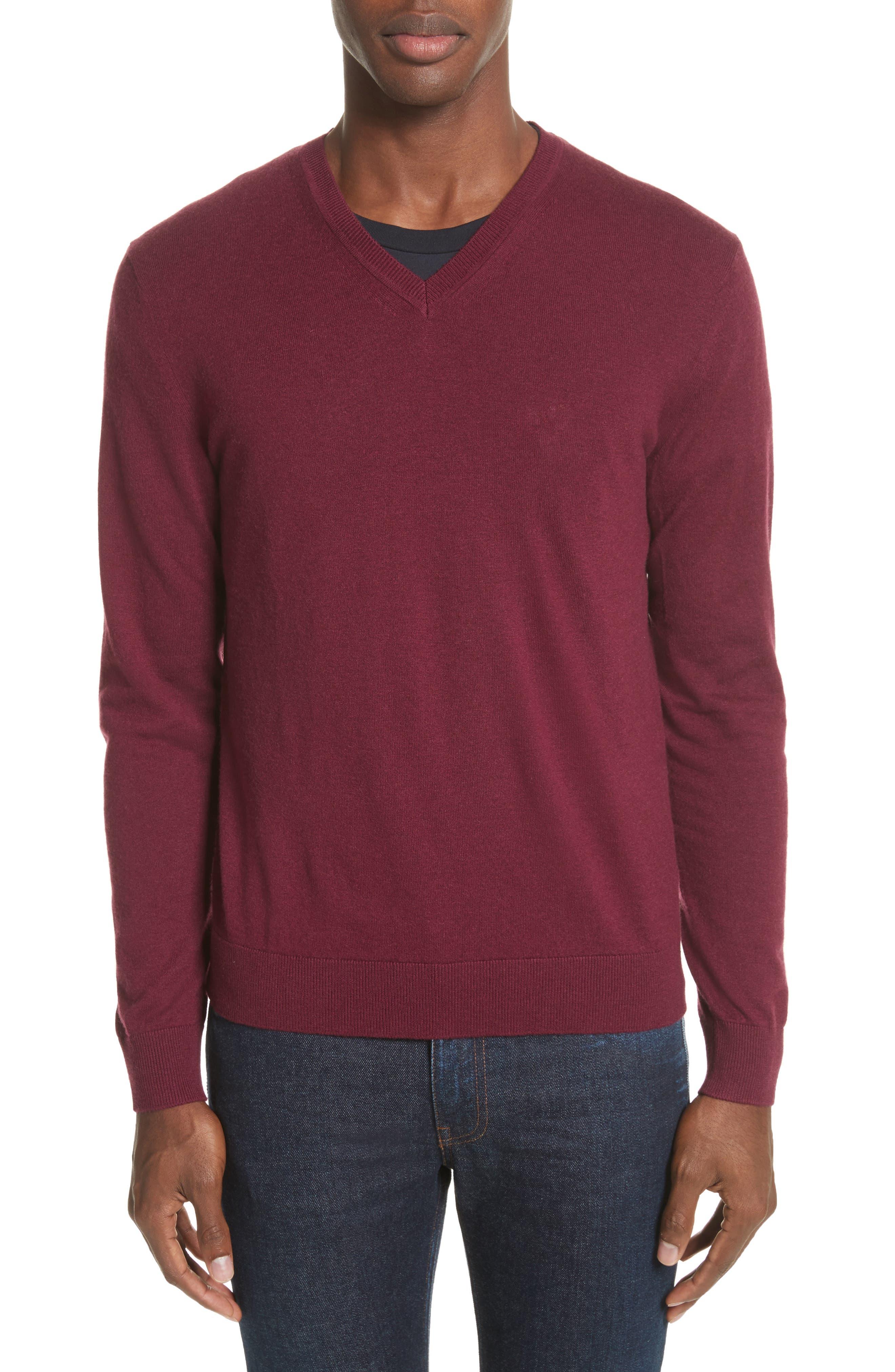 Burberry Randolf Cashmere & Cotton Sweater