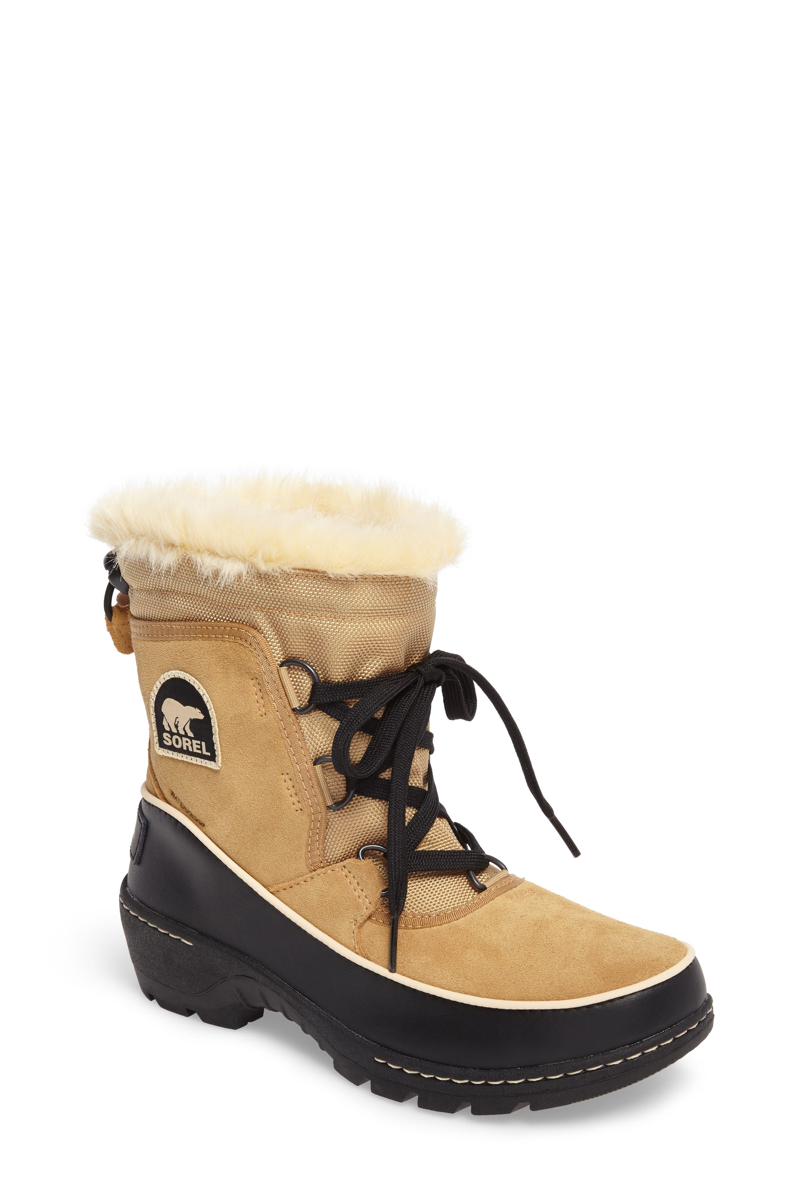 Tivoli III Waterproof Boot,                         Main,                         color, Curry/ Black
