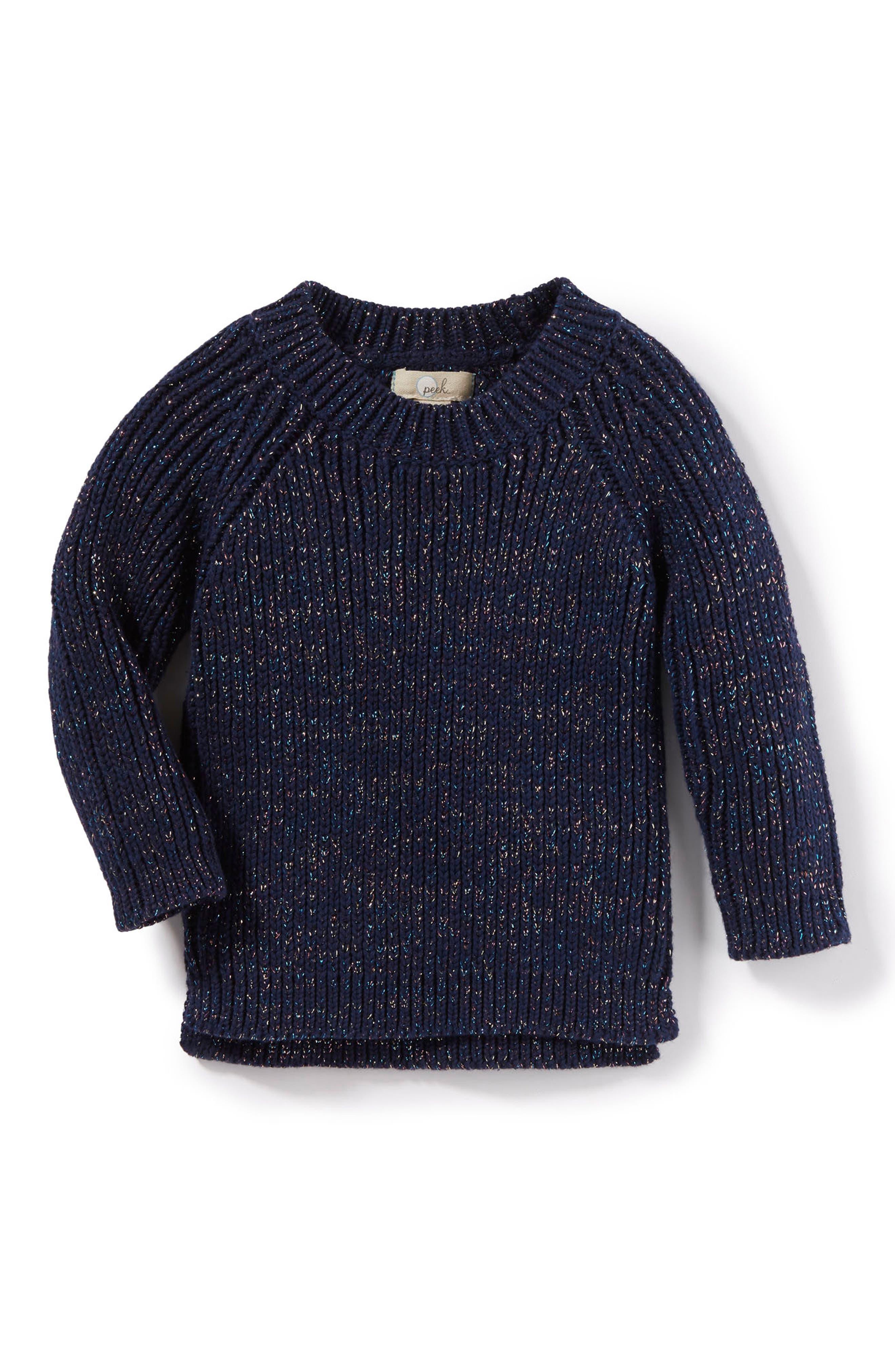 Main Image - Peek Serena Sweater (Baby Girls)
