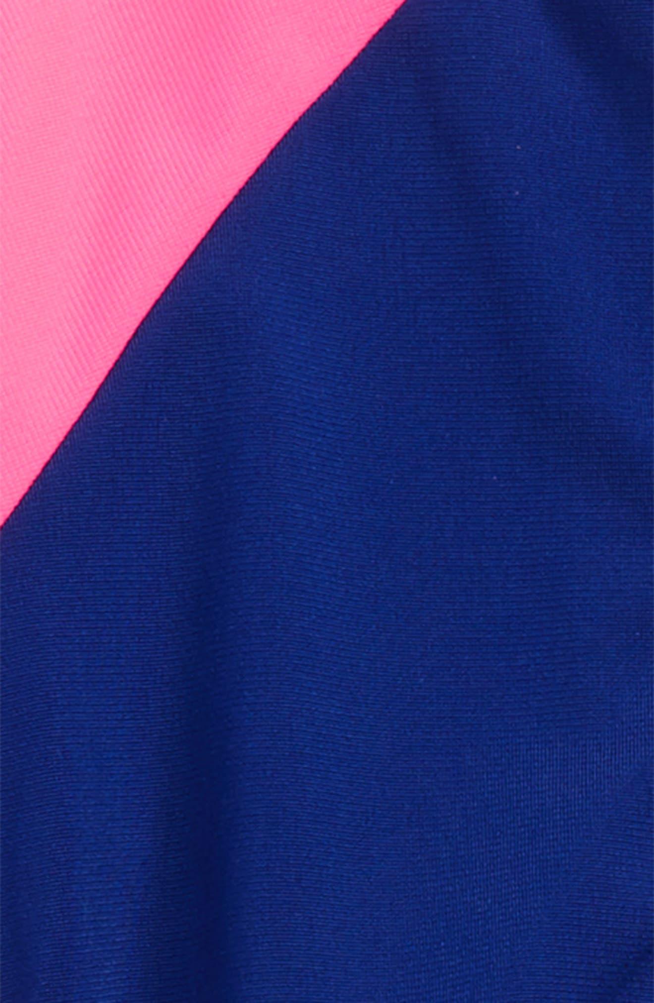 EQT Track Jacket & Pants,                             Alternate thumbnail 2, color,                             Mystery Ink/ Solar Pink