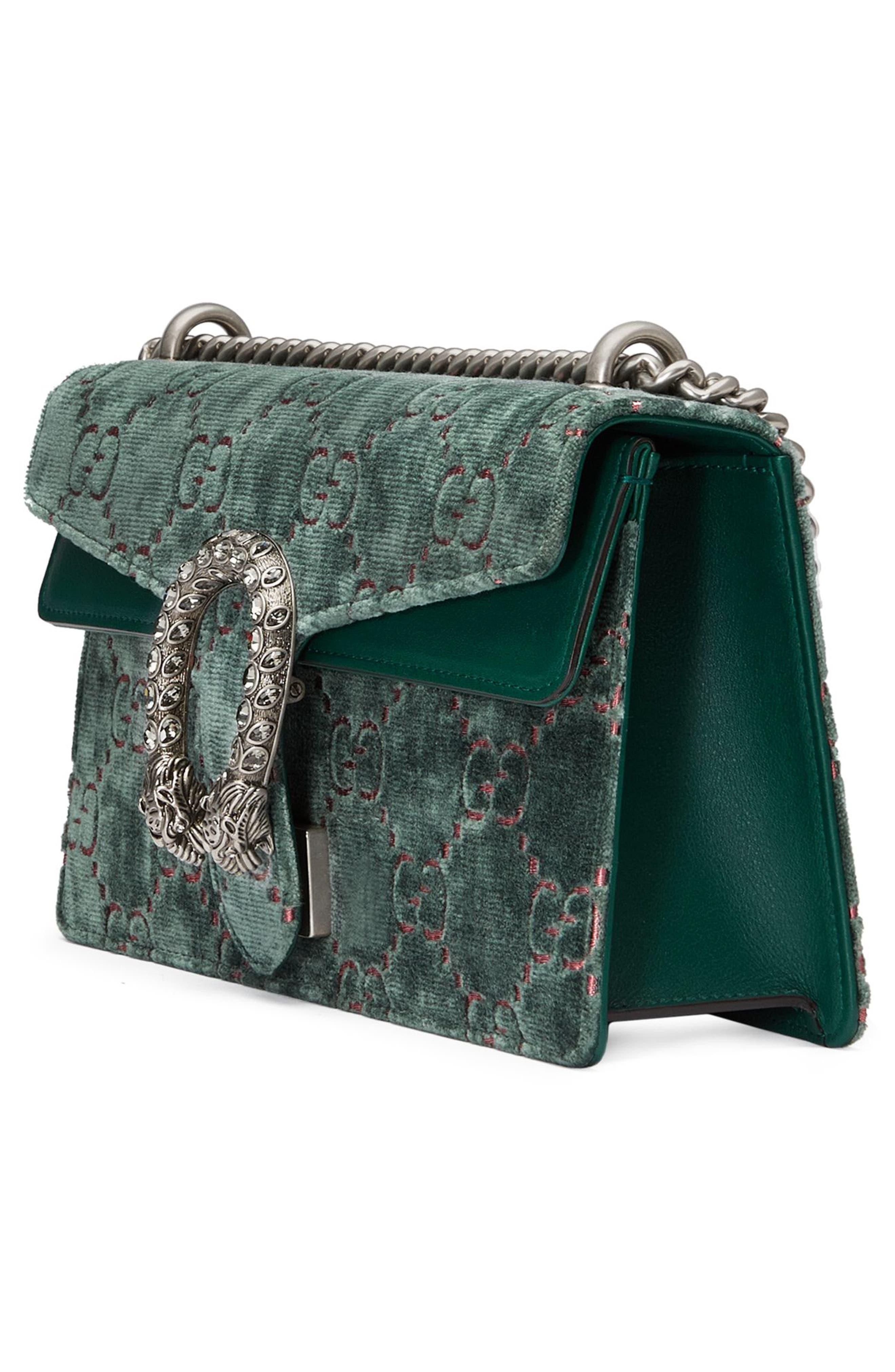 Alternate Image 2  - Gucci Small Dionysus GG Velvet Shoulder Bag