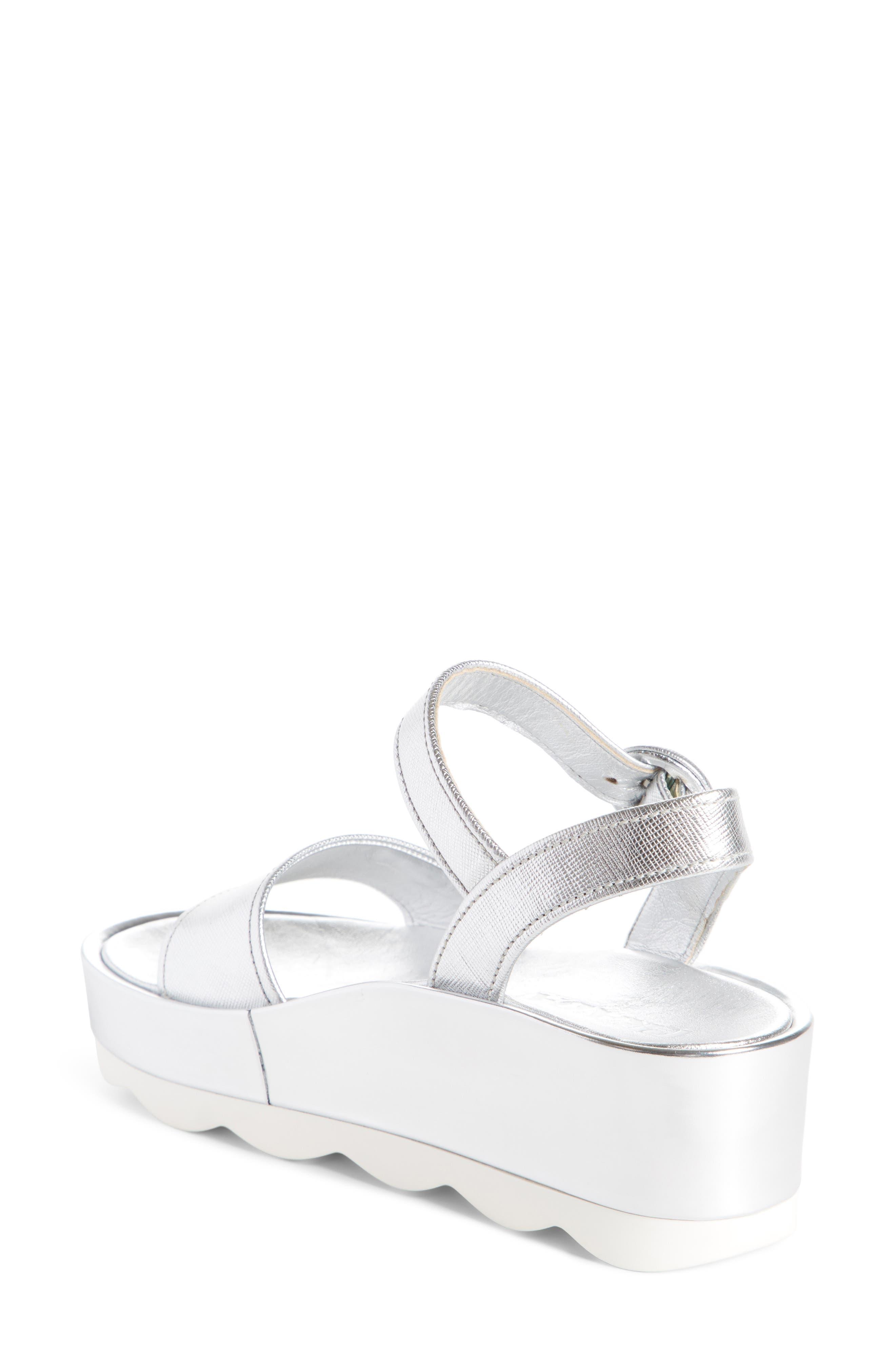 Alternate Image 2  - Prada Ankle Strap Platform Sandal (Women)