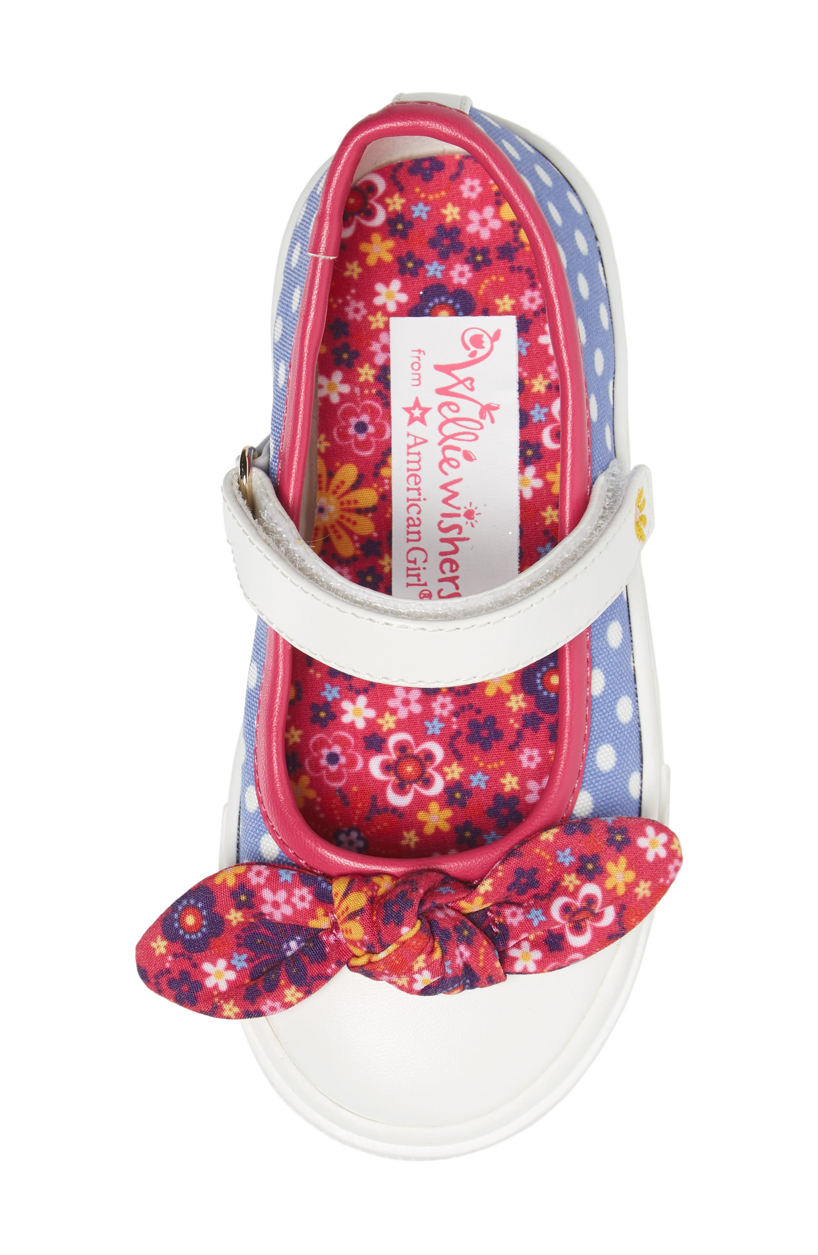 Alternate Image 5  - WellieWishers from American Girl Kendall Mary Jane Sneaker (Walker, Toddler, Little Kid & Big Kid)
