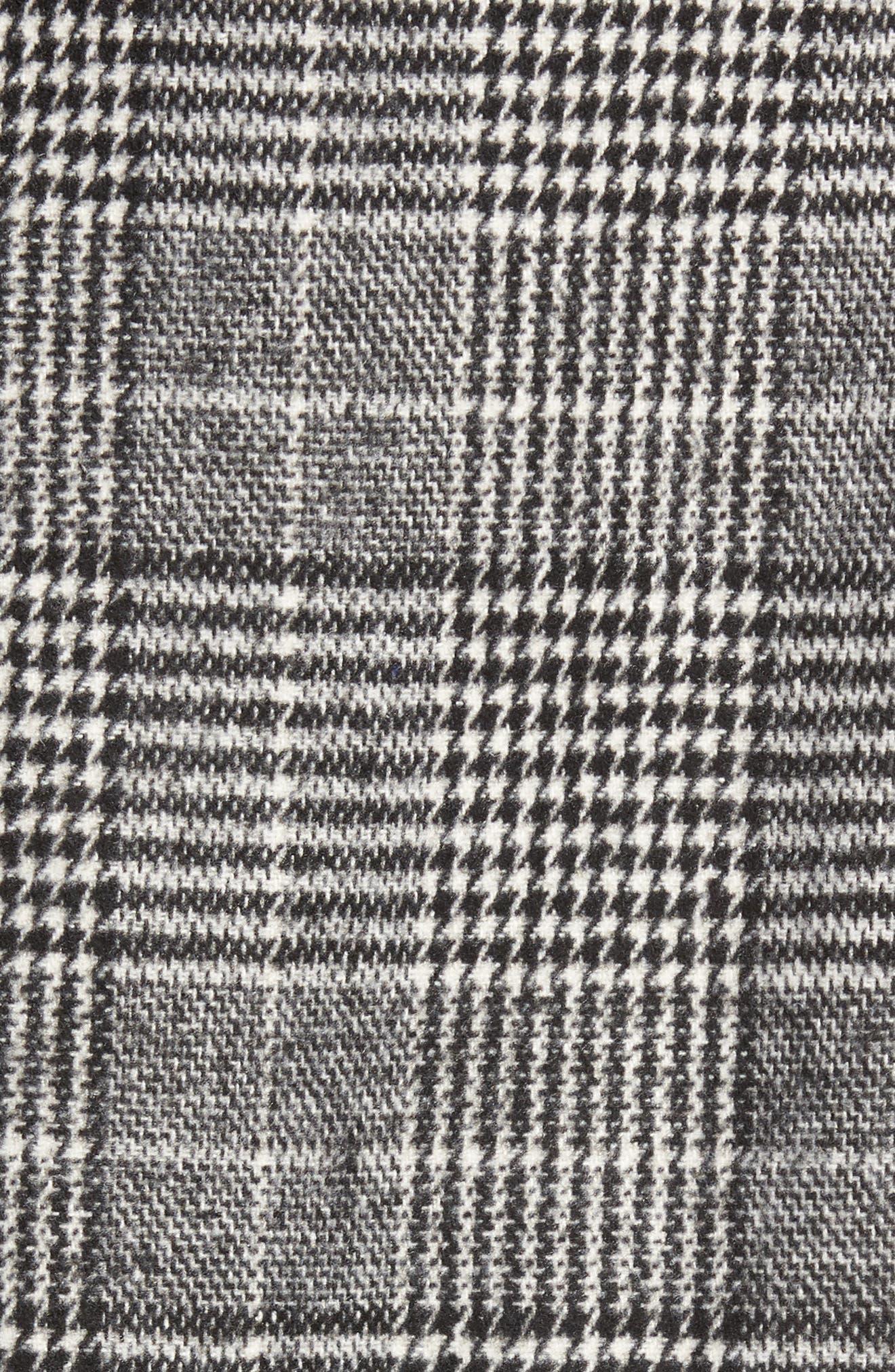 Alternate Image 5  - Halogen® Ruffle Plaid Skirt