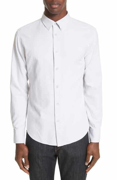 White Designer Shirts for Men: Oxford, Sport & Chambray | Nordstrom