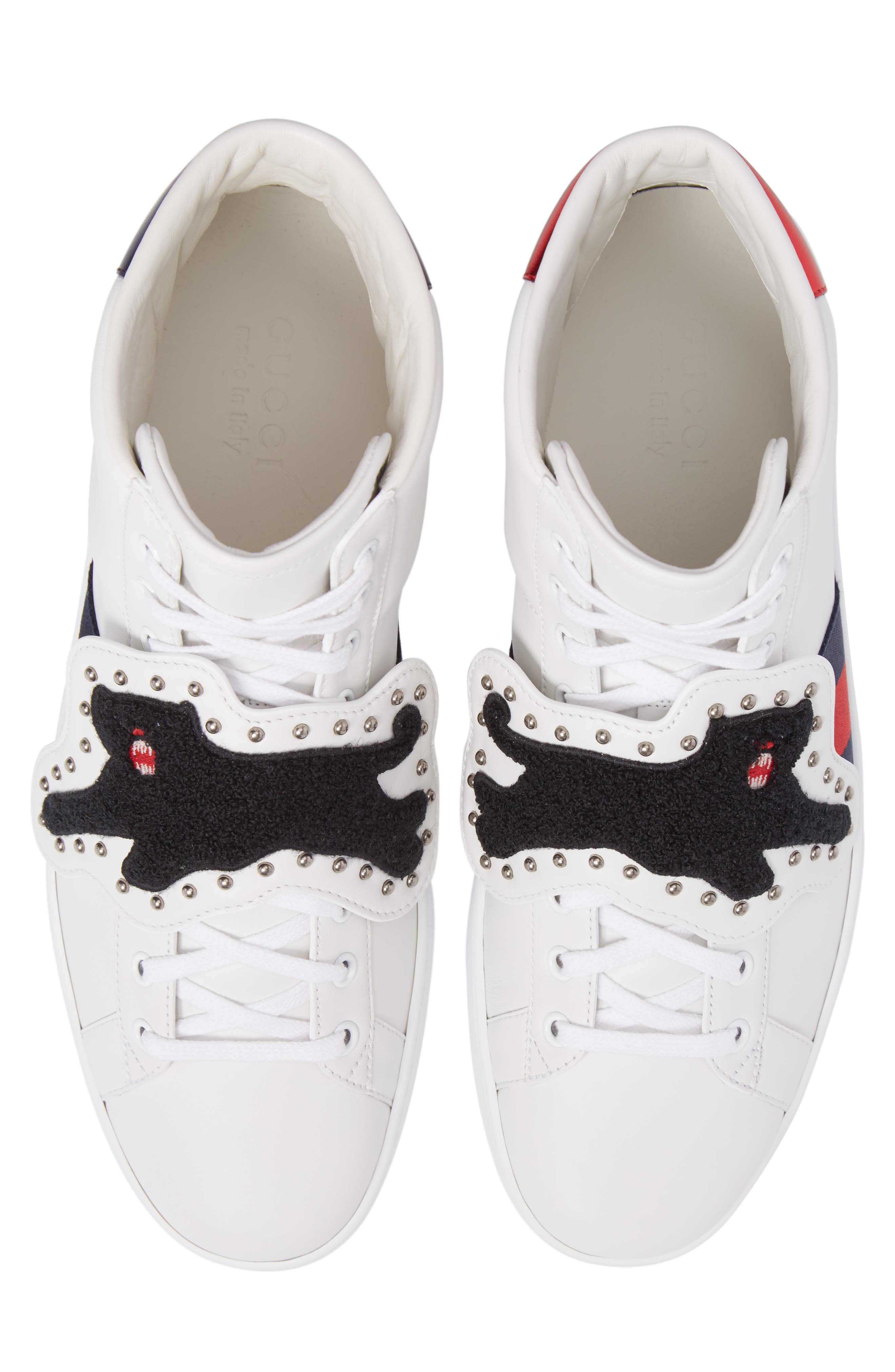 Alternate Image 5  - Gucci New Ace Hi Panther Sneaker (Men)