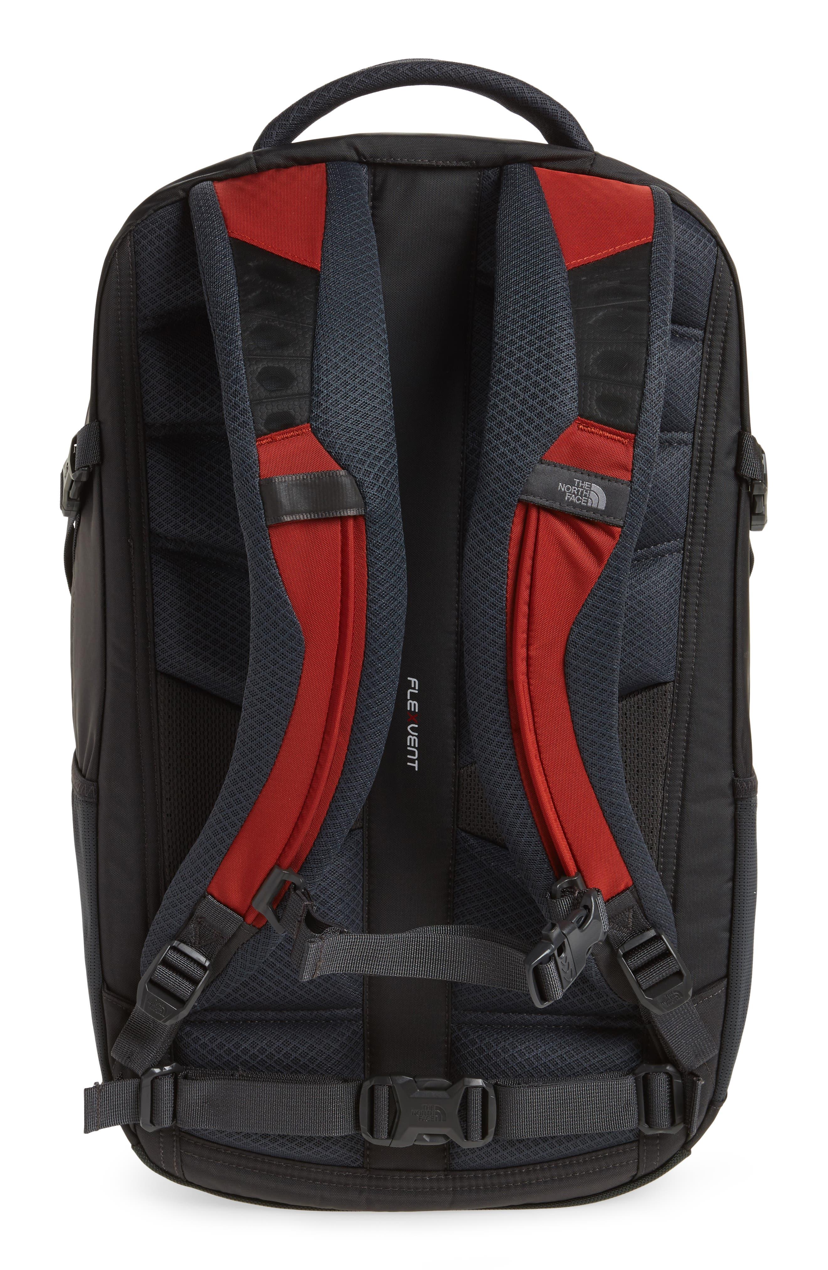 Hot Shot Backpack,                             Alternate thumbnail 3, color,                             Ketchup Red/ Asphalt Grey