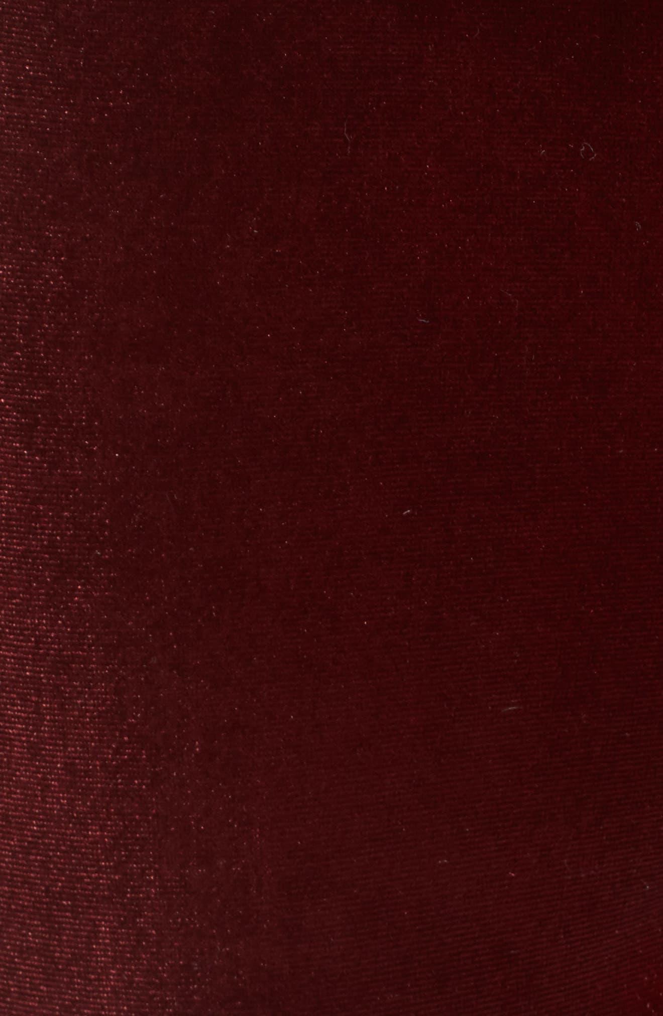 Velvet Overalls,                             Alternate thumbnail 5, color,                             Velvet Rope