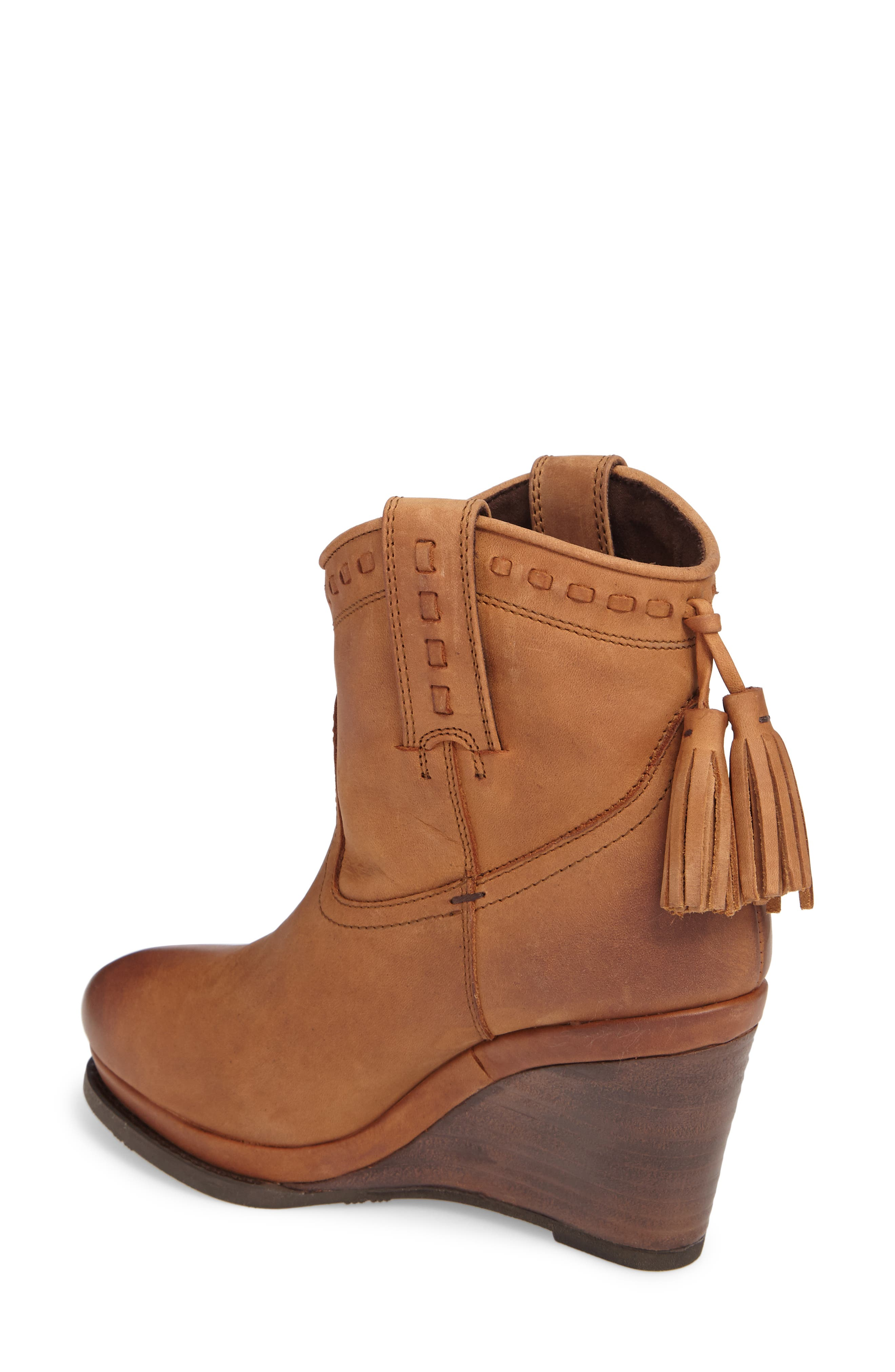 Alternate Image 2  - Ariat Broadway Western Wedge Boot (Women)