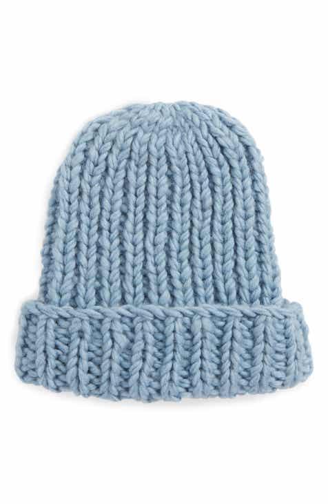 Nirvanna Designs Chunky Knit Slouchy Wool Cap ba8afccc91a2