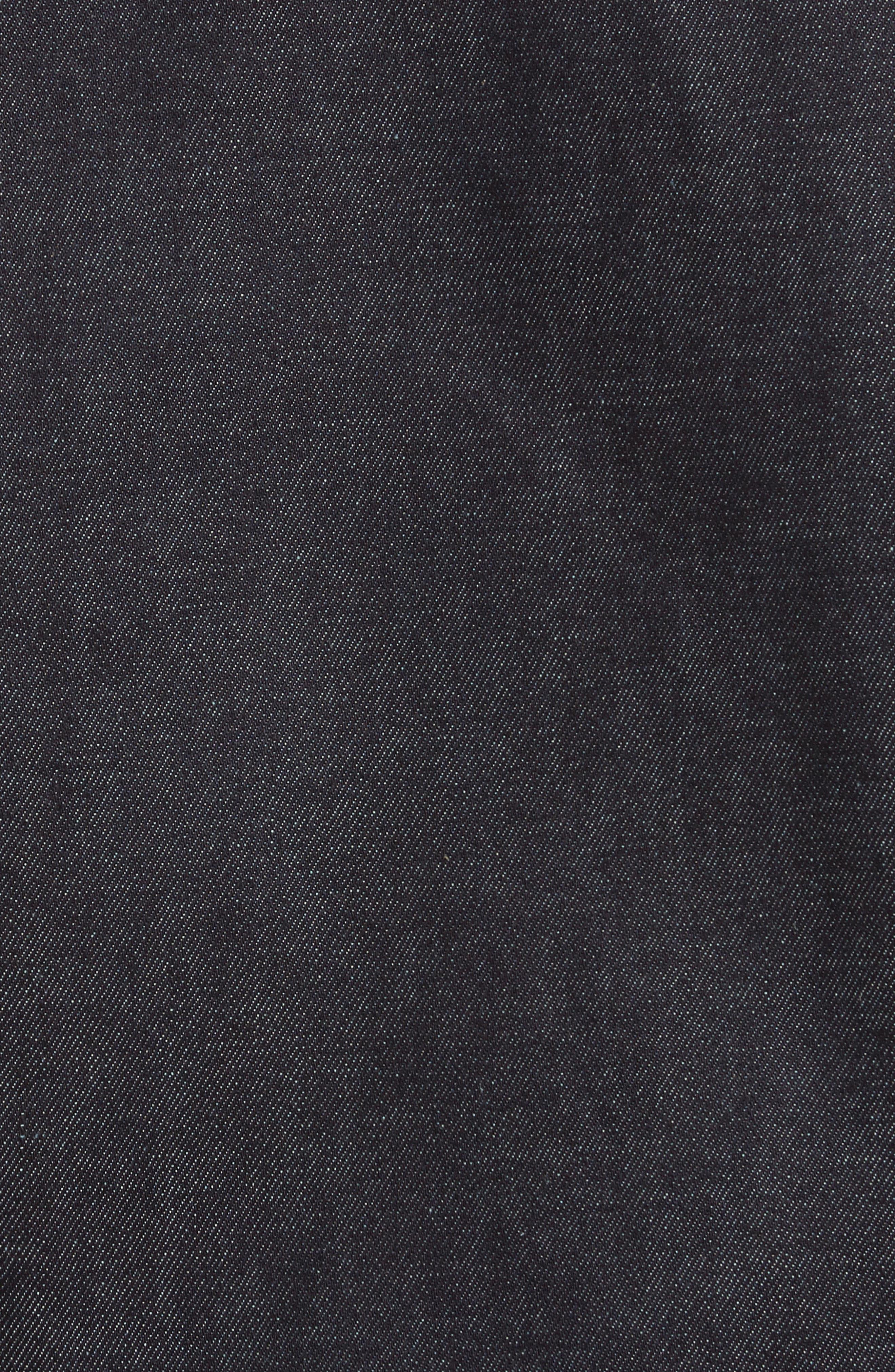 Re-Edition Zip Denim Jacket,                             Alternate thumbnail 6, color,                             Indigo
