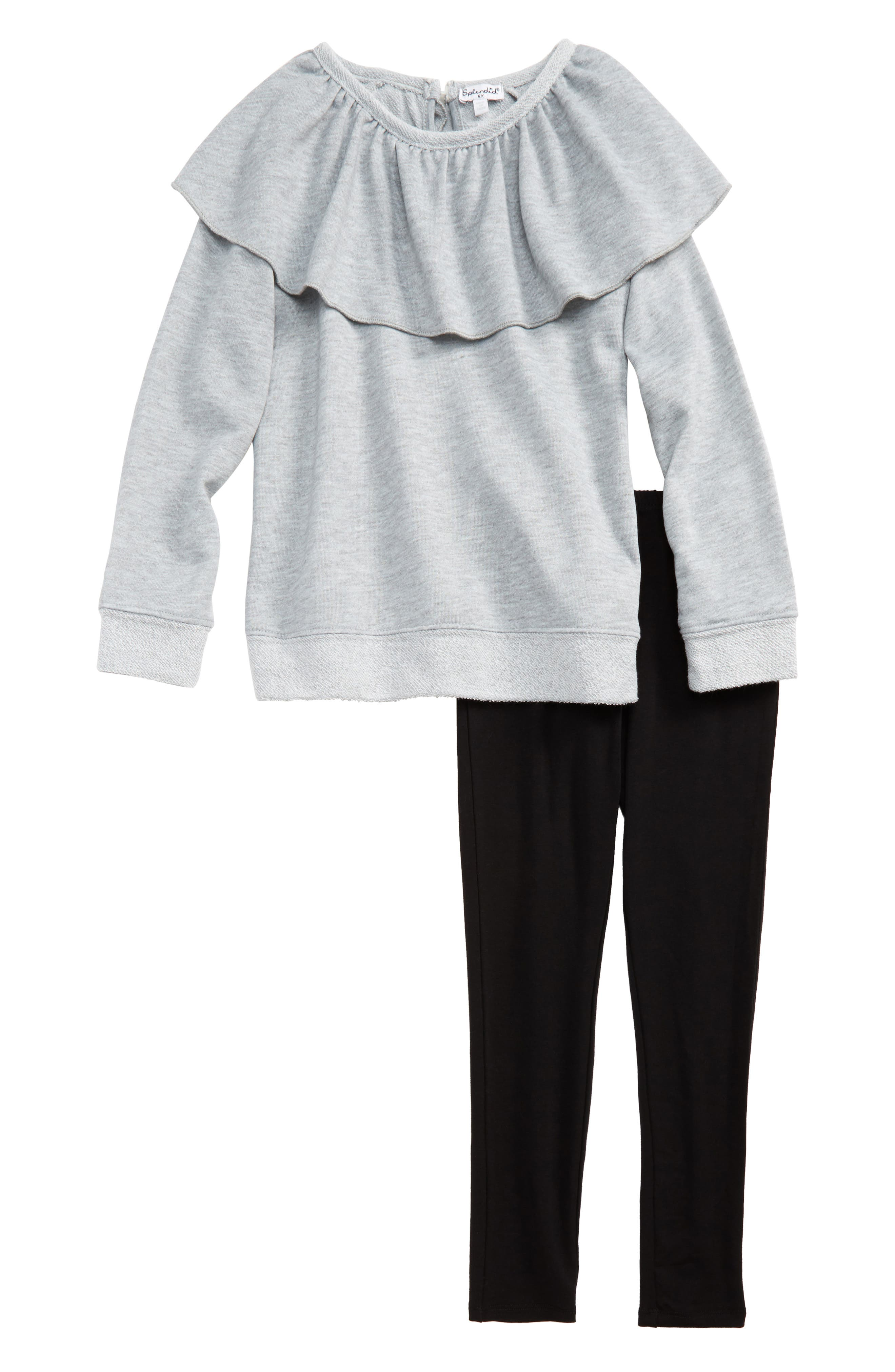 Splendid Sweatshirt & Leggings Set (Toddler Girls & Little Girls)