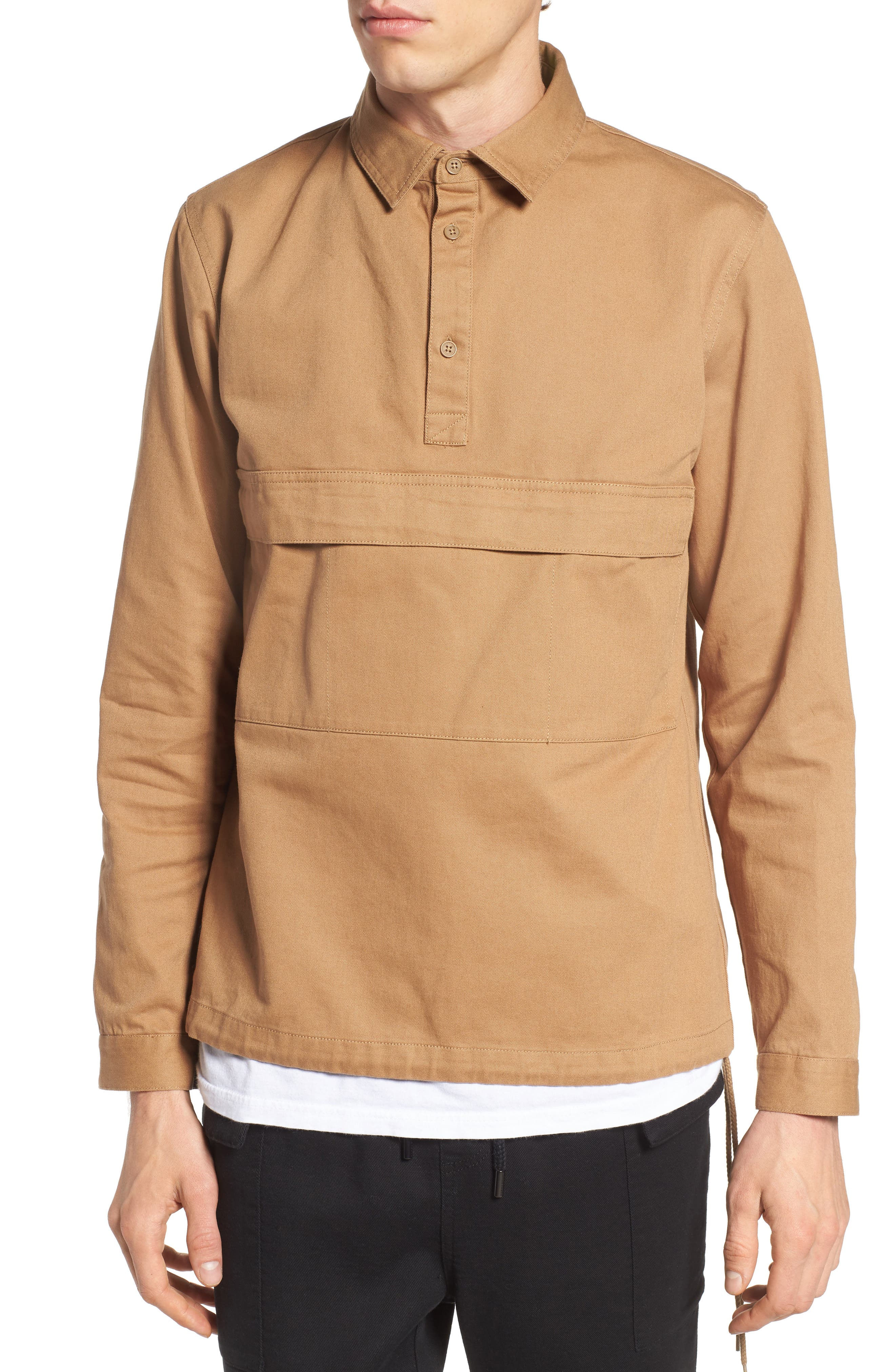 Alternate Image 1 Selected - Native Youth Woodside Twill Shirt