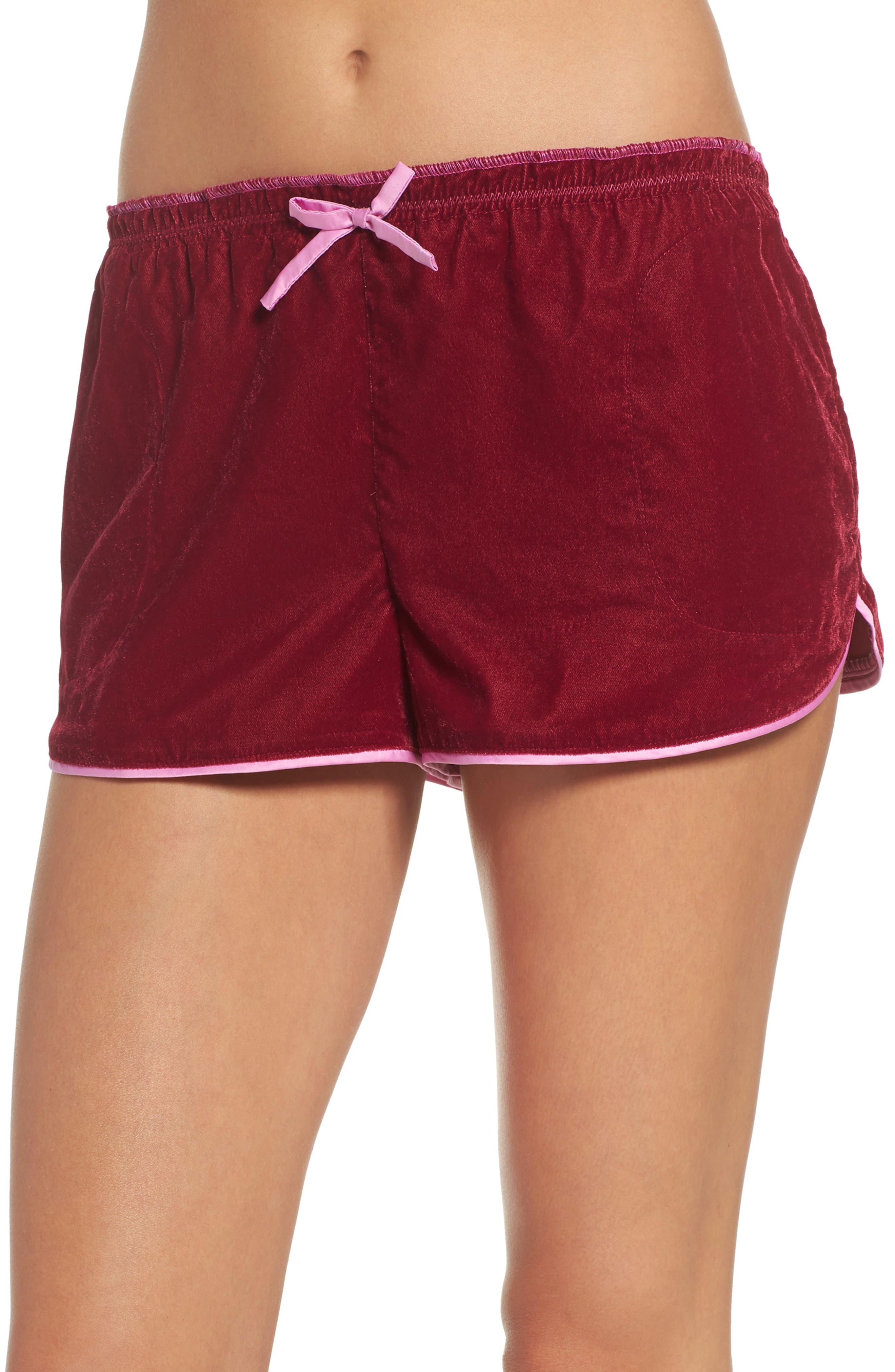 Room Service Velvet Boxer Shorts