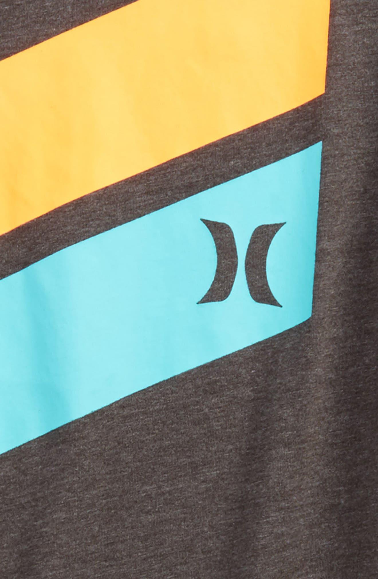 'Icon Slash' Graphic T-Shirt,                             Alternate thumbnail 2, color,                             Charcoal Heather