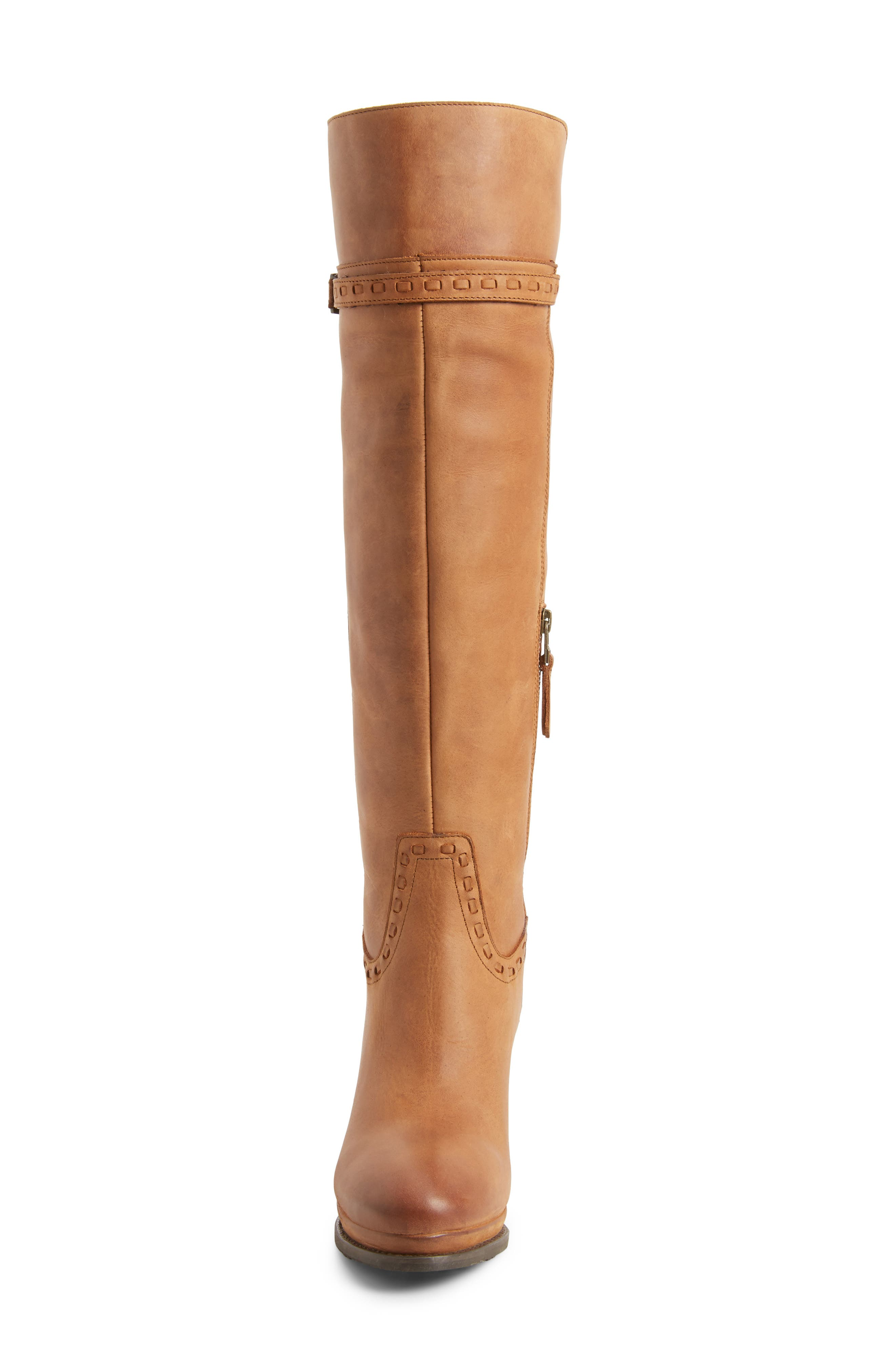 Knoxville Boot,                             Alternate thumbnail 4, color,                             Trendy Tawny Leather