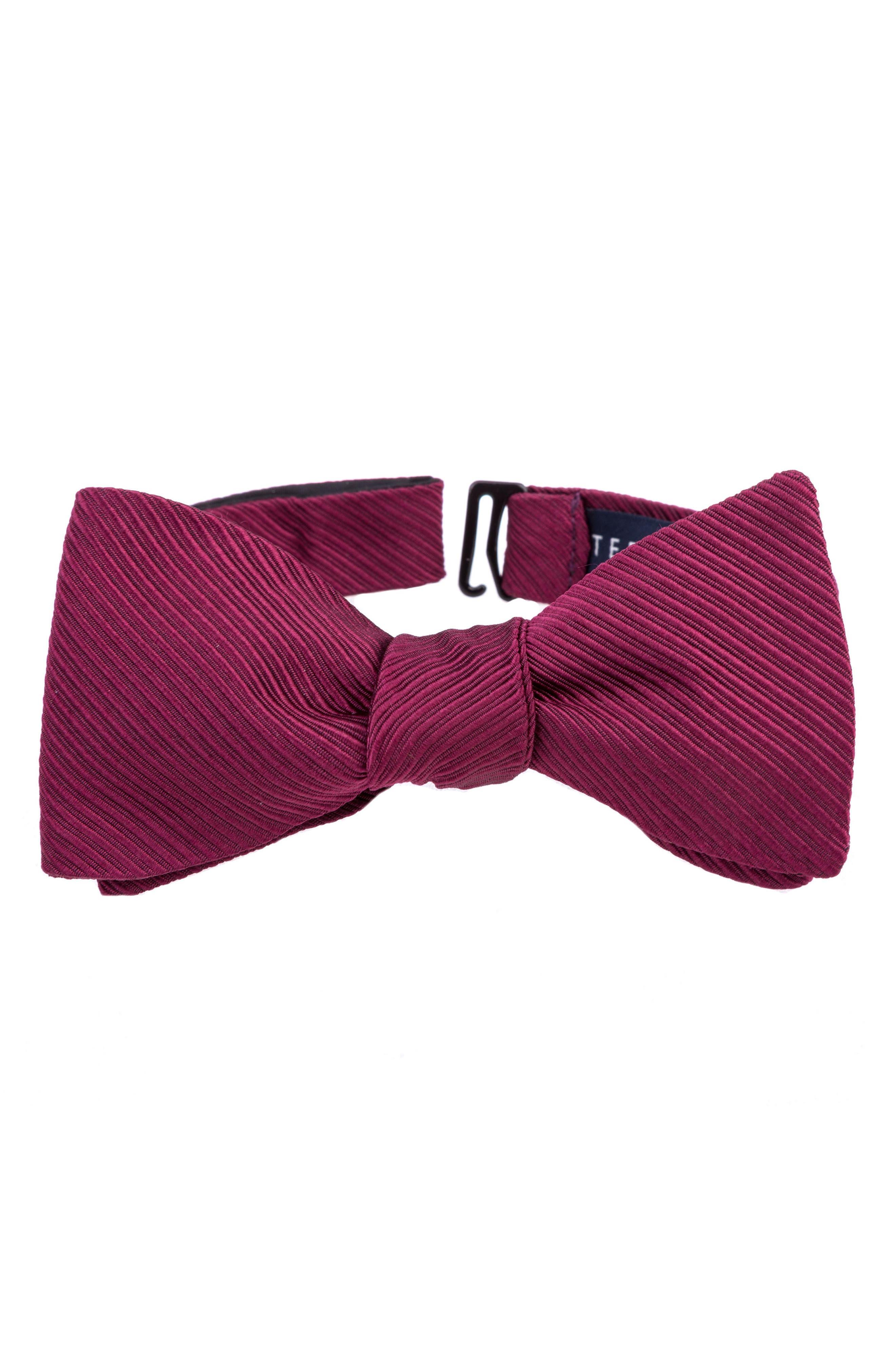 Ted Baker London Fancy Silk & Cotton Bow Tie