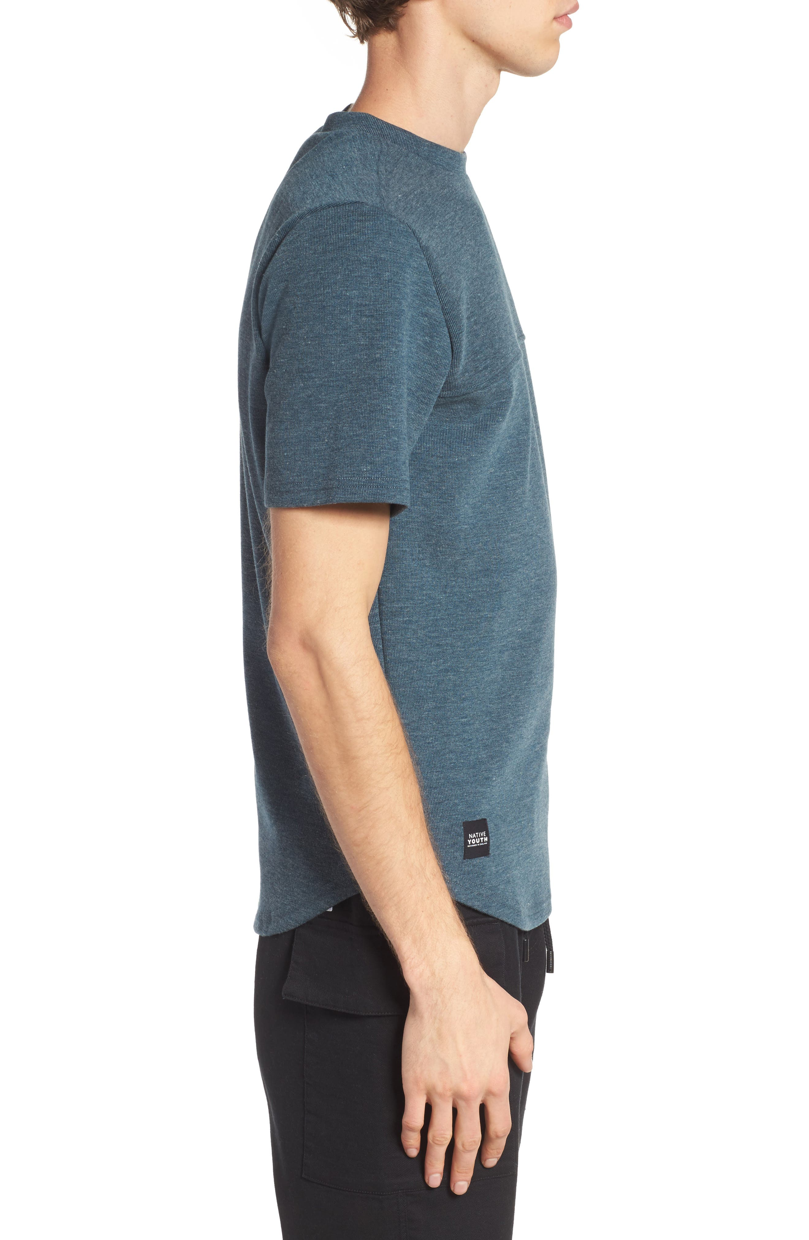 Onyx T-Shirt,                             Alternate thumbnail 3, color,                             Teal