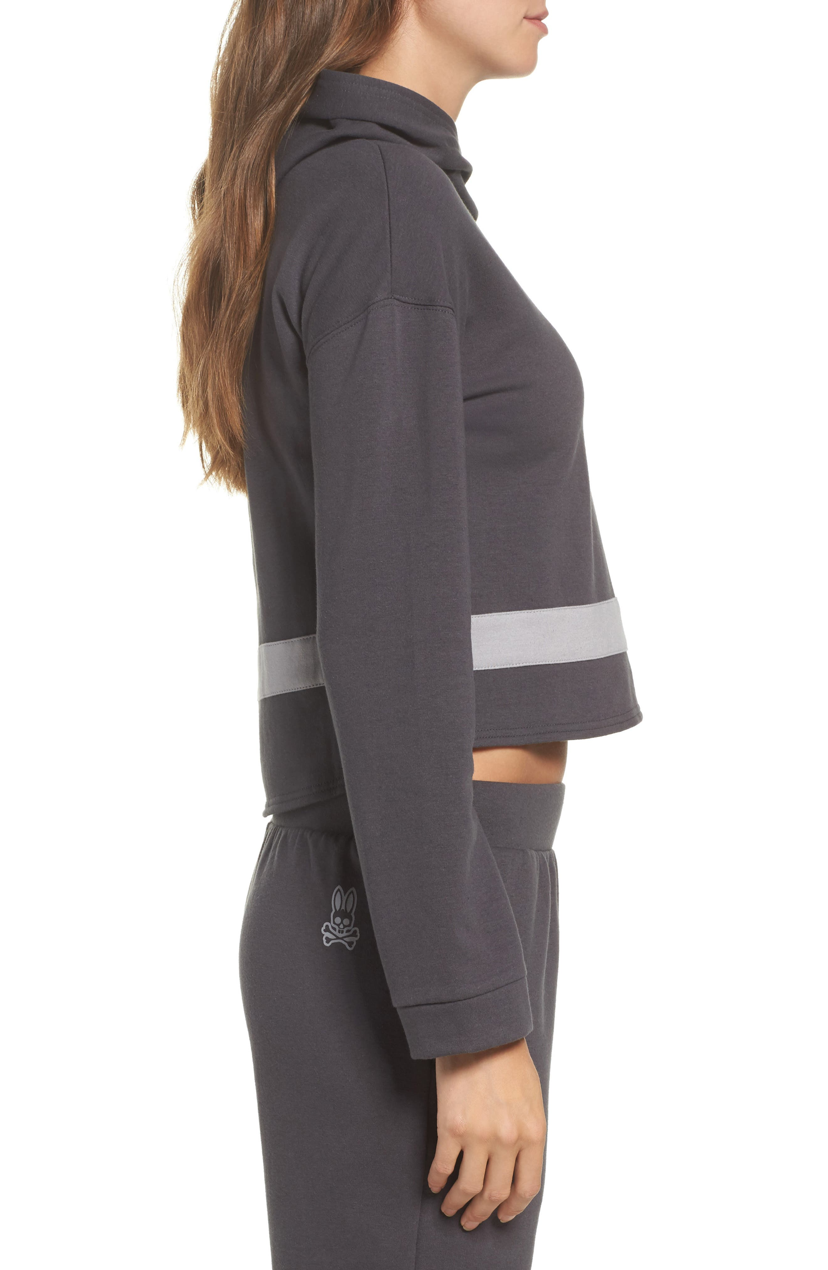 Comfy Lounge Hoodie,                             Alternate thumbnail 3, color,                             Forged Iron