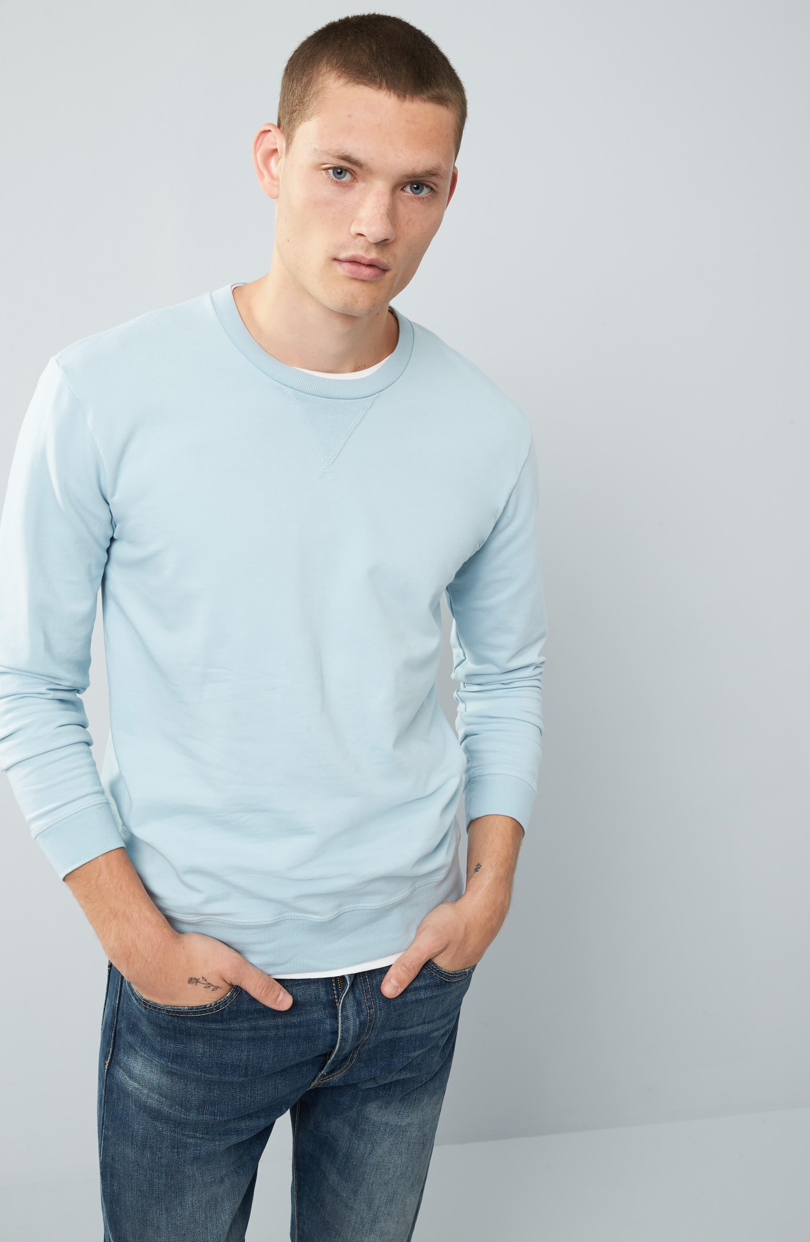 Alternate Image 7  - Goodlife Slim Fit Crewneck Sweatshirt