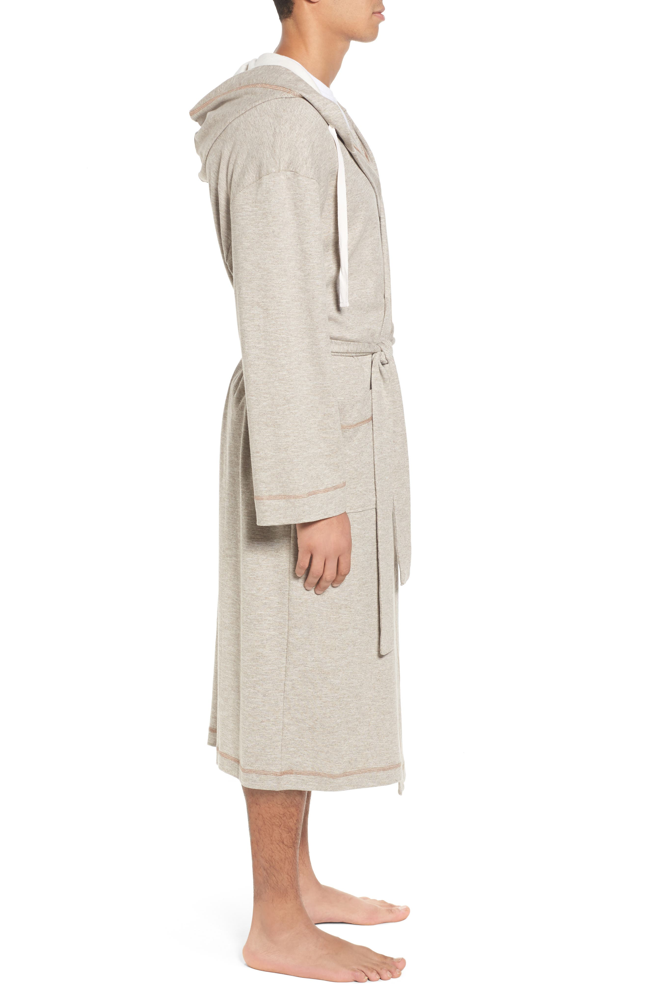 Vintage Space Cadet Robe,                             Alternate thumbnail 3, color,                             Cocoa