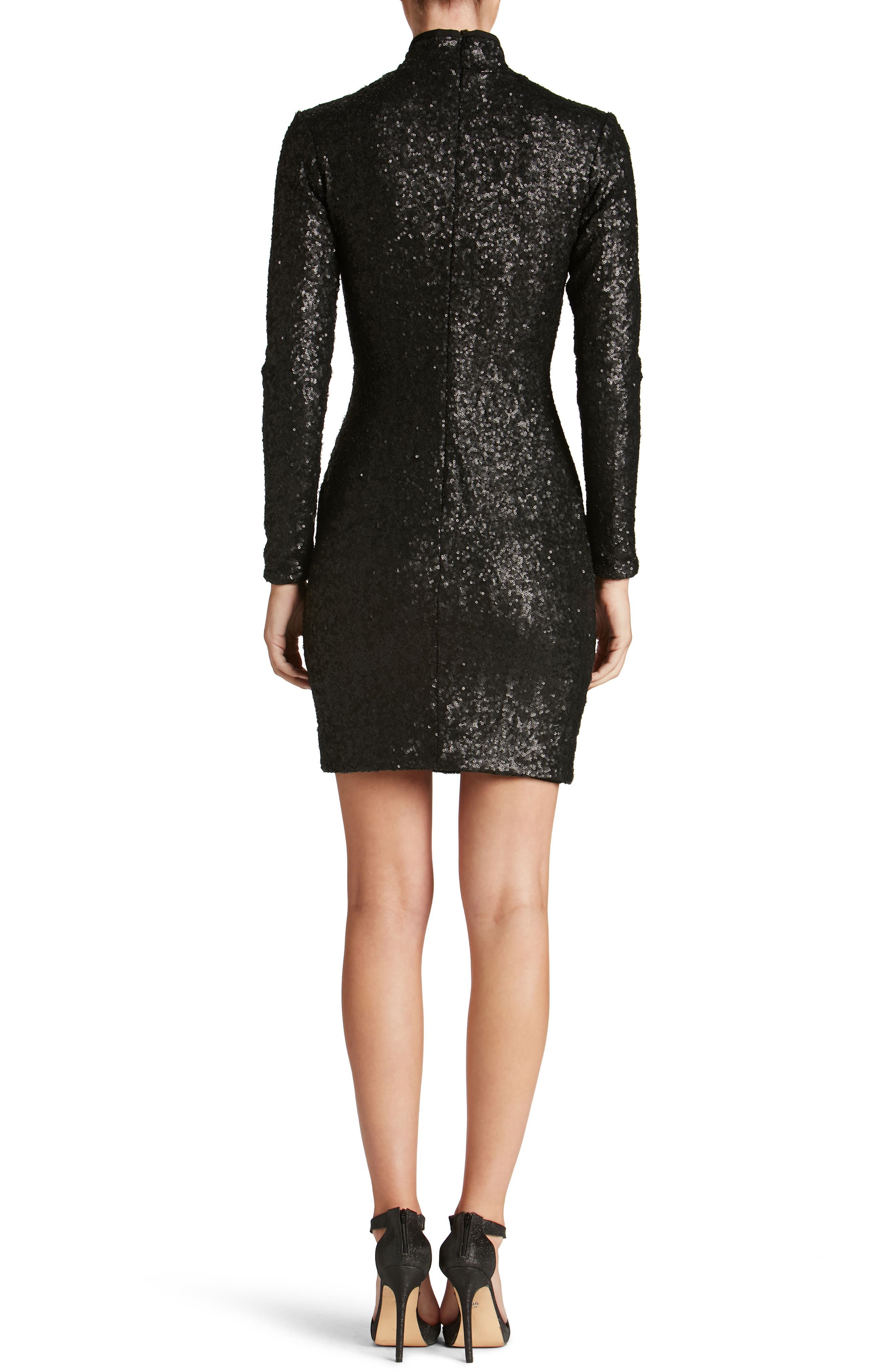 Alternate Image 2  - Dress the Population Janis Sequin Body-Con Dress