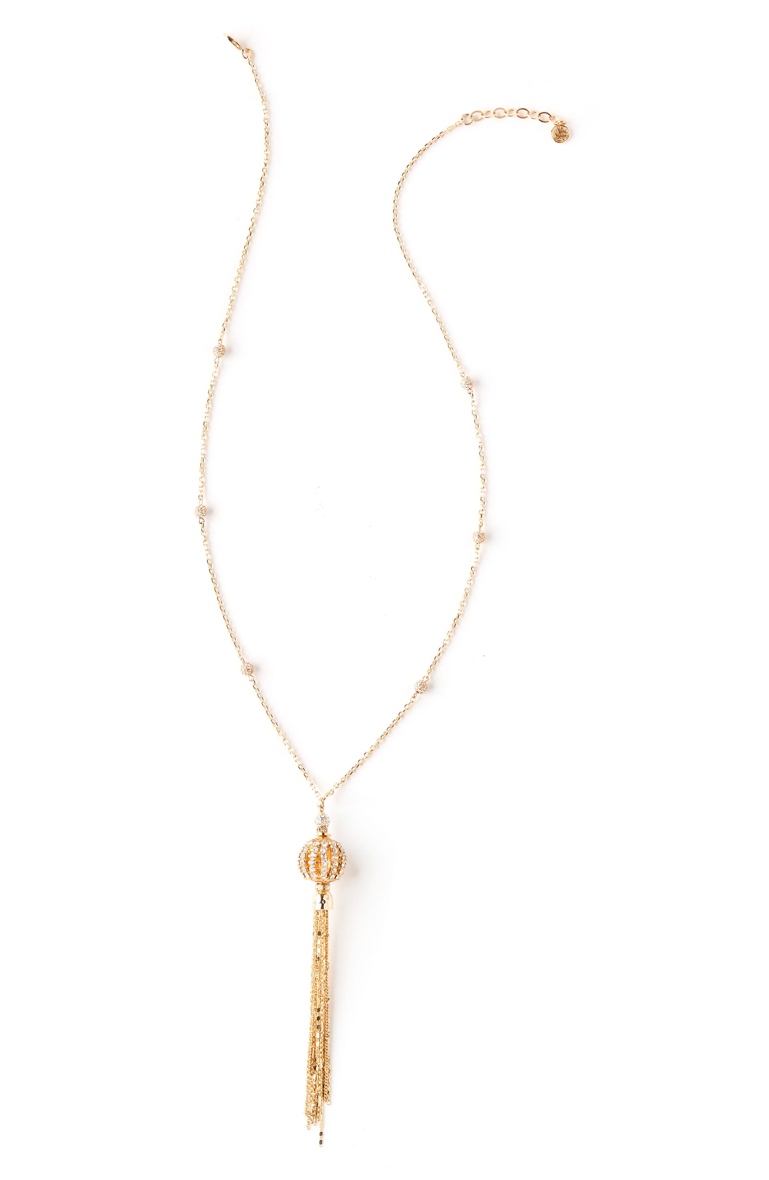 Lilly Pulitzer Crystal Pendant Necklace
