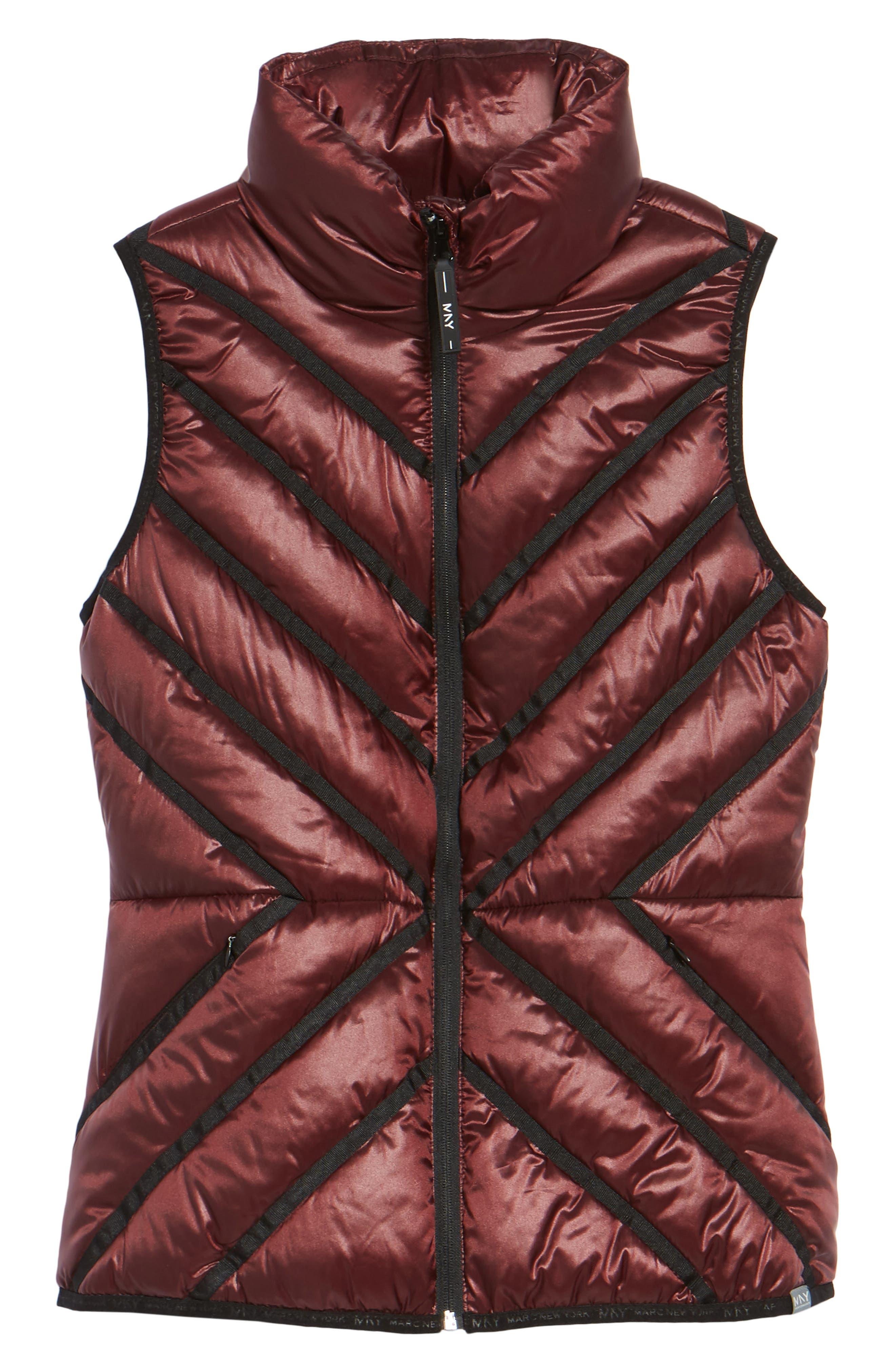 Alternate Image 5  - Marc New York Chevron Quilt Puffer Vest