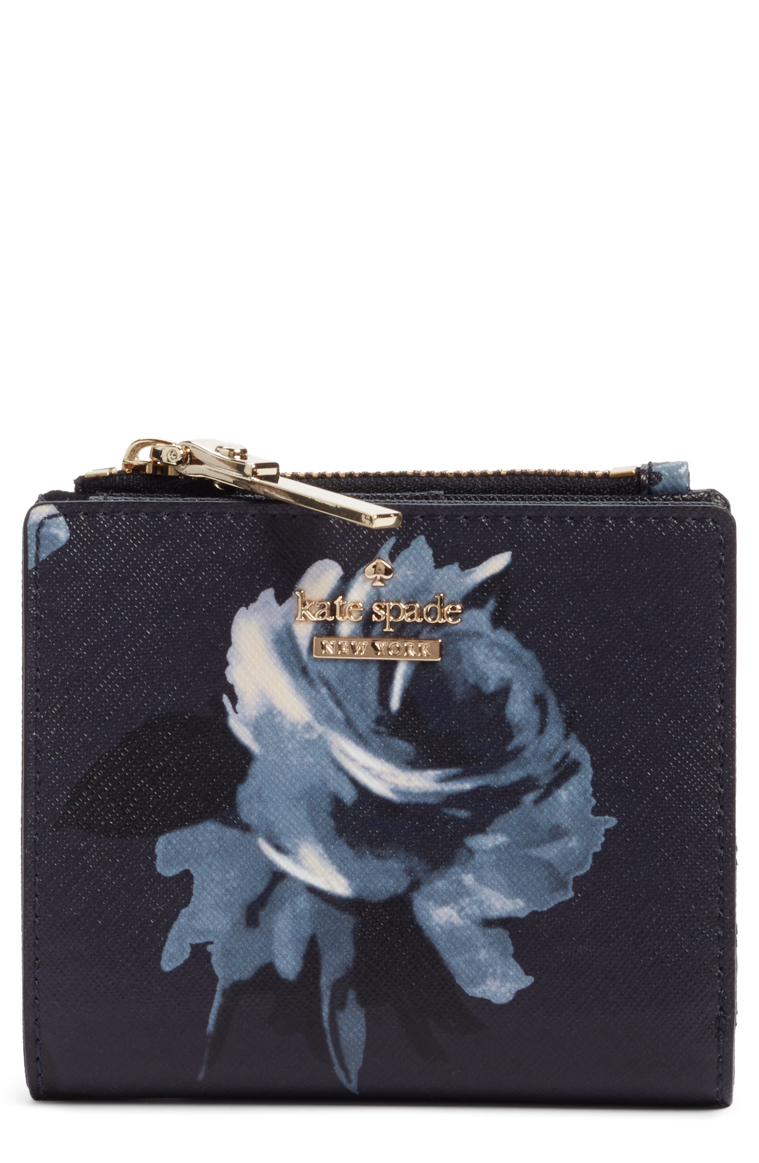 cameron street - adalyn faux leather wallet,                         Main,                         color, Rich Navy Multi