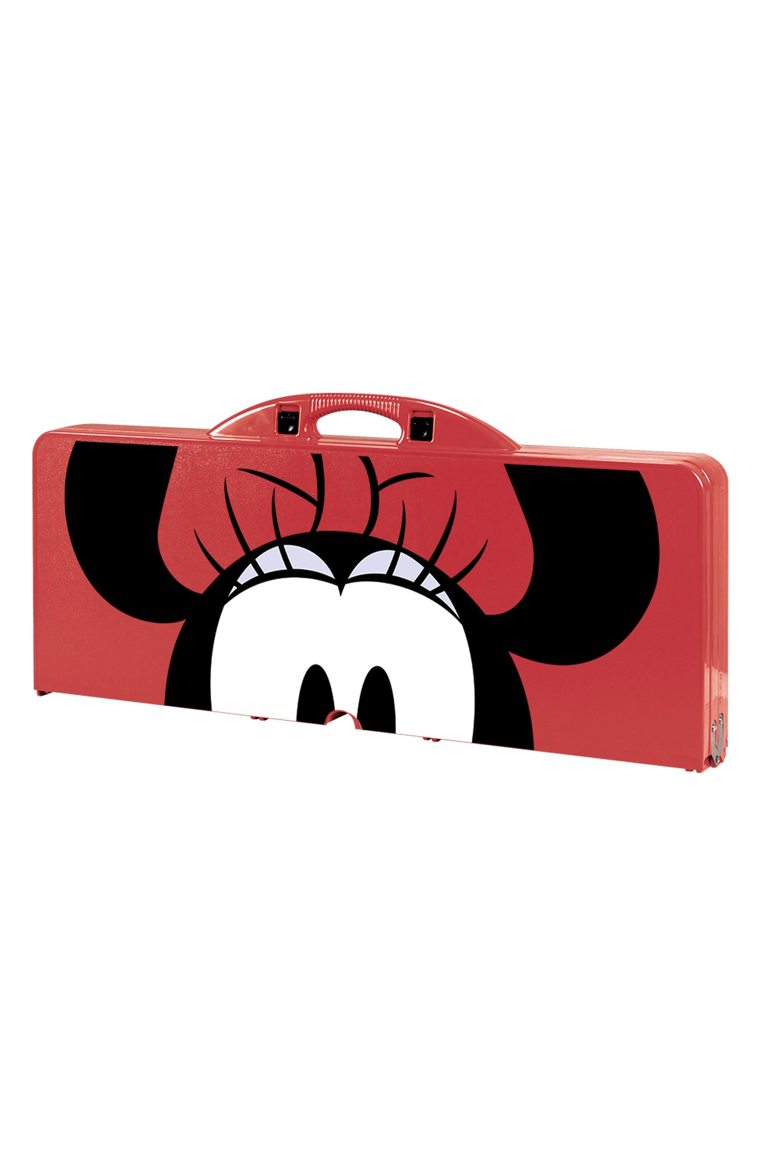 Disney<sup>®</sup> Mickey Mouse Portable Folding Table,                             Alternate thumbnail 2, color,                             Red