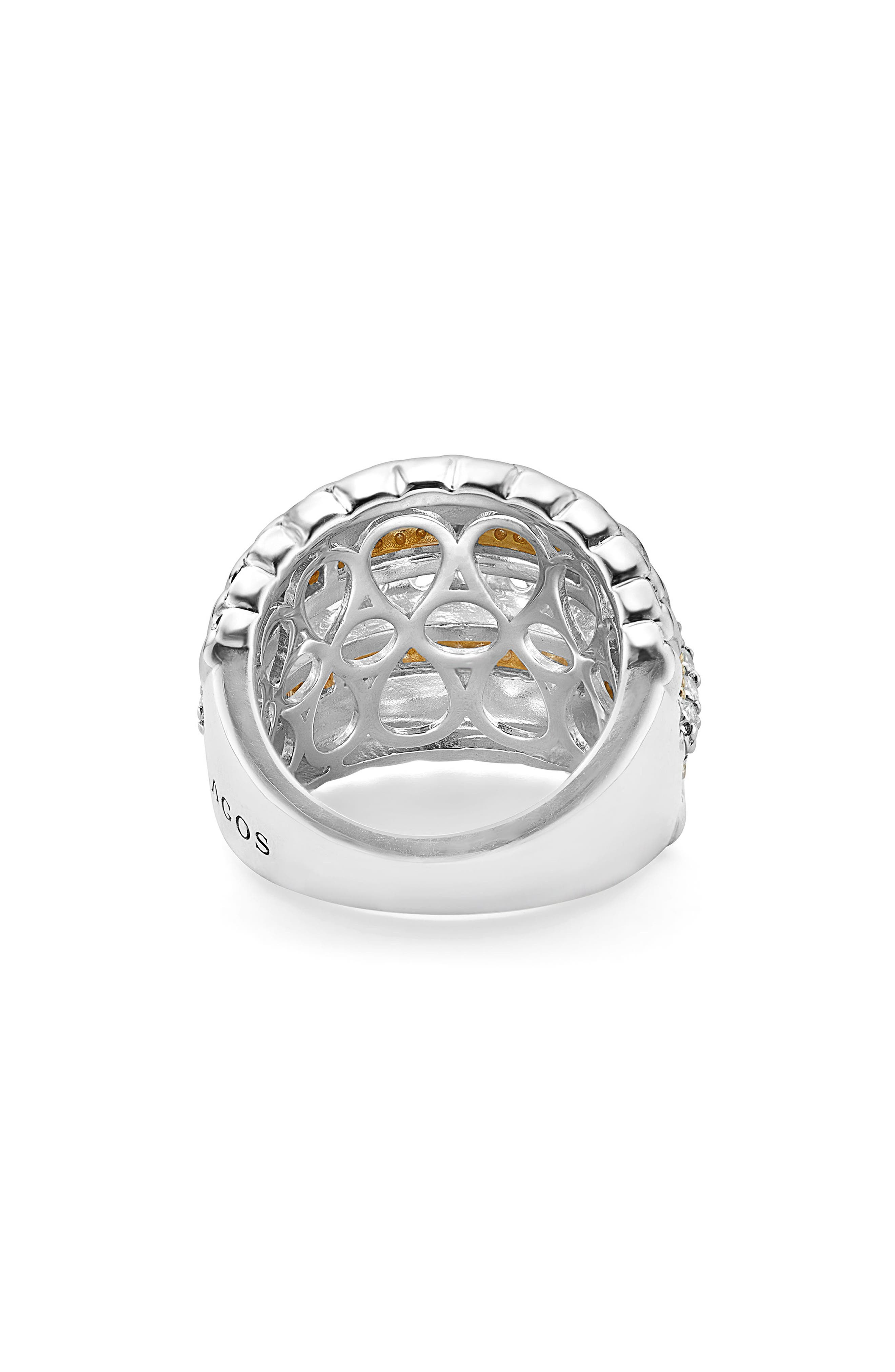 Diamond Lux Ring,                             Alternate thumbnail 4, color,                             Diamond