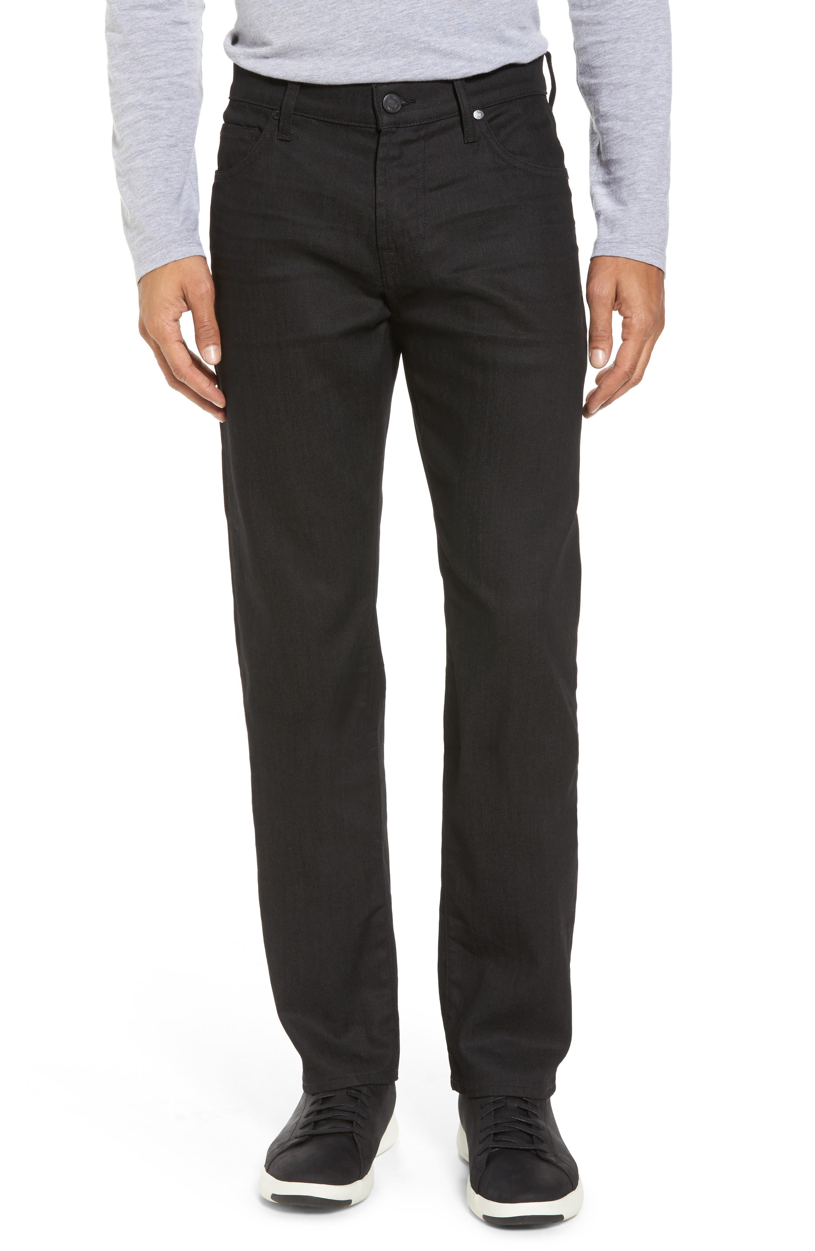 Alternate Image 1 Selected - 7 For All Mankind® Airweft - Slimmy Slim Fit Jeans (Soiree Black)