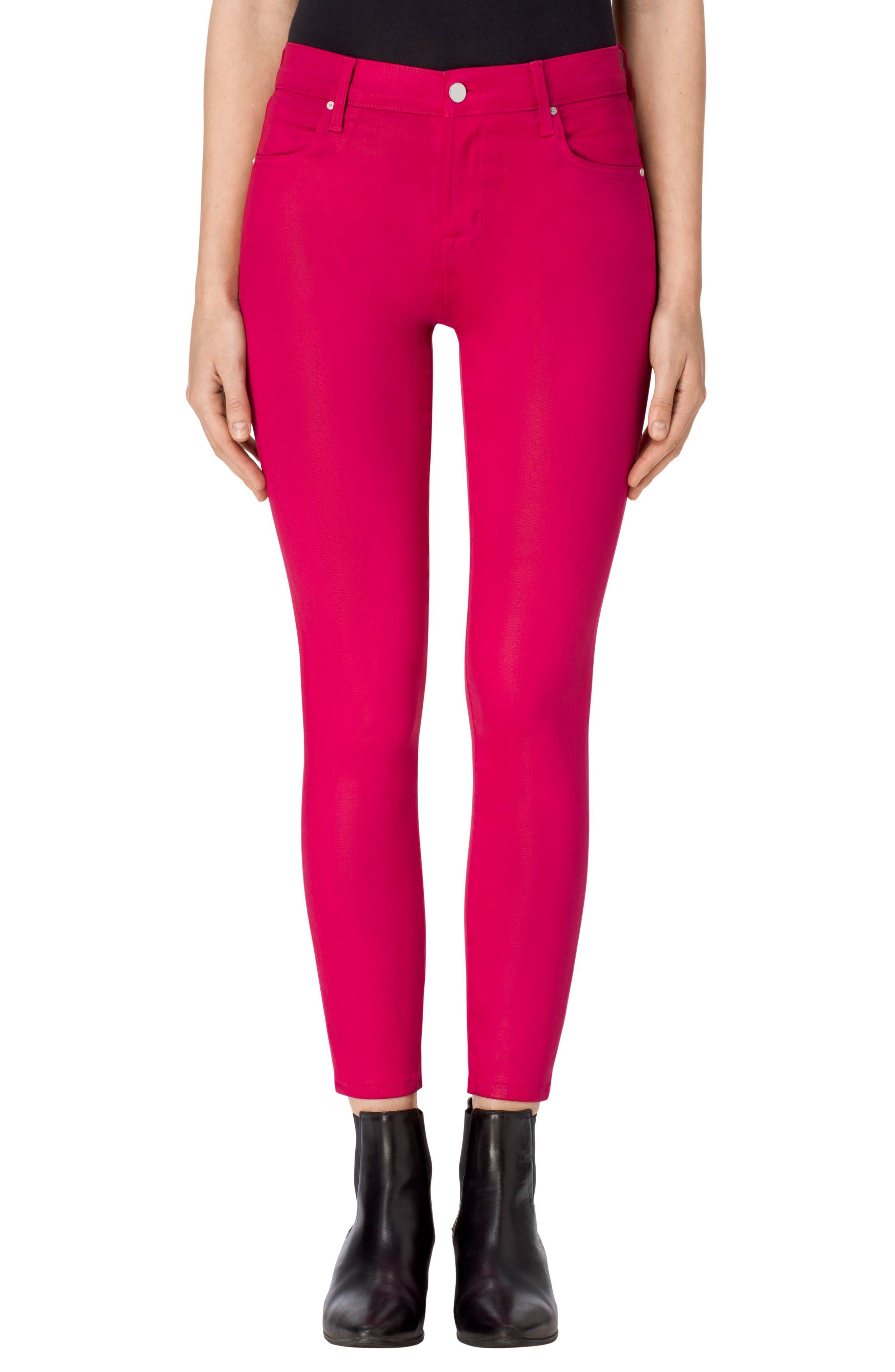 Main Image - J Brand Alana High Waist Crop Skinny Jeans