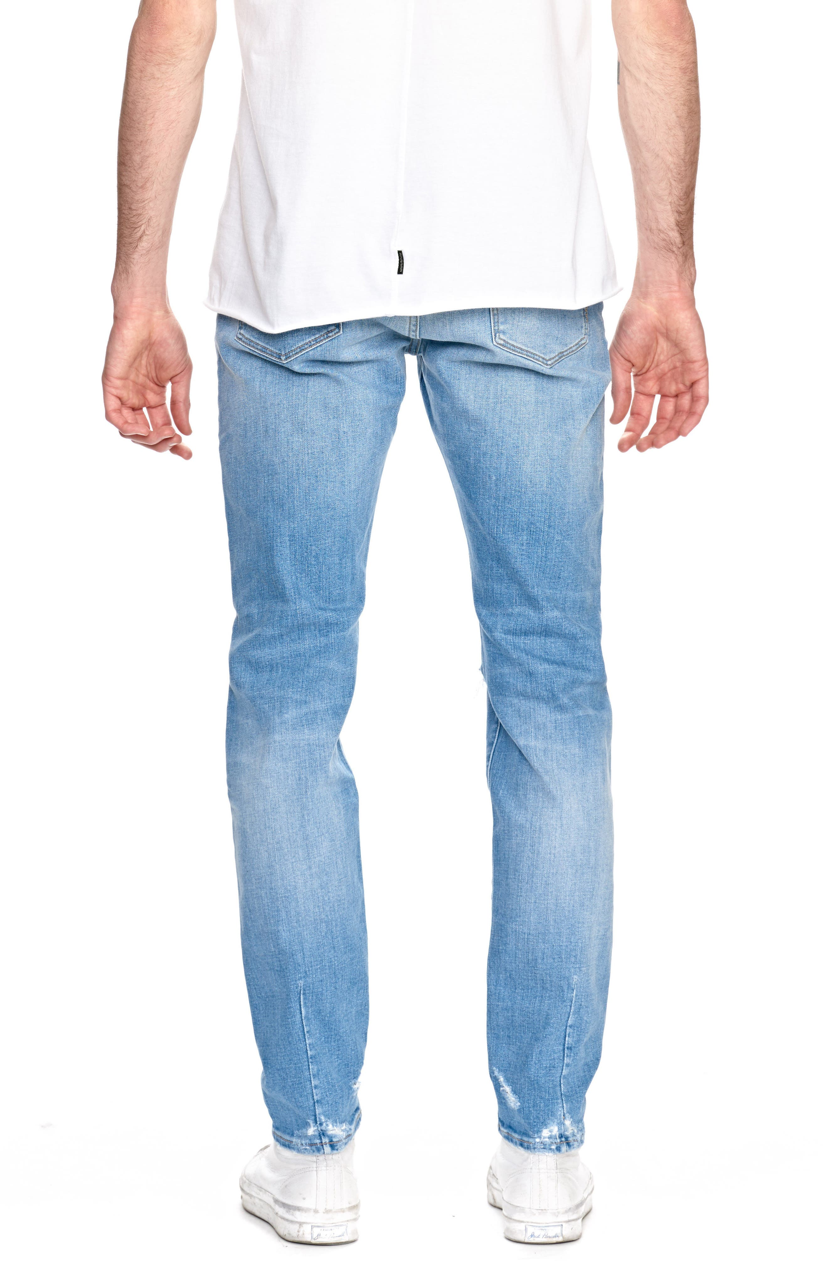 Iggy Skinny Fit Jeans,                             Alternate thumbnail 2, color,                             Noam