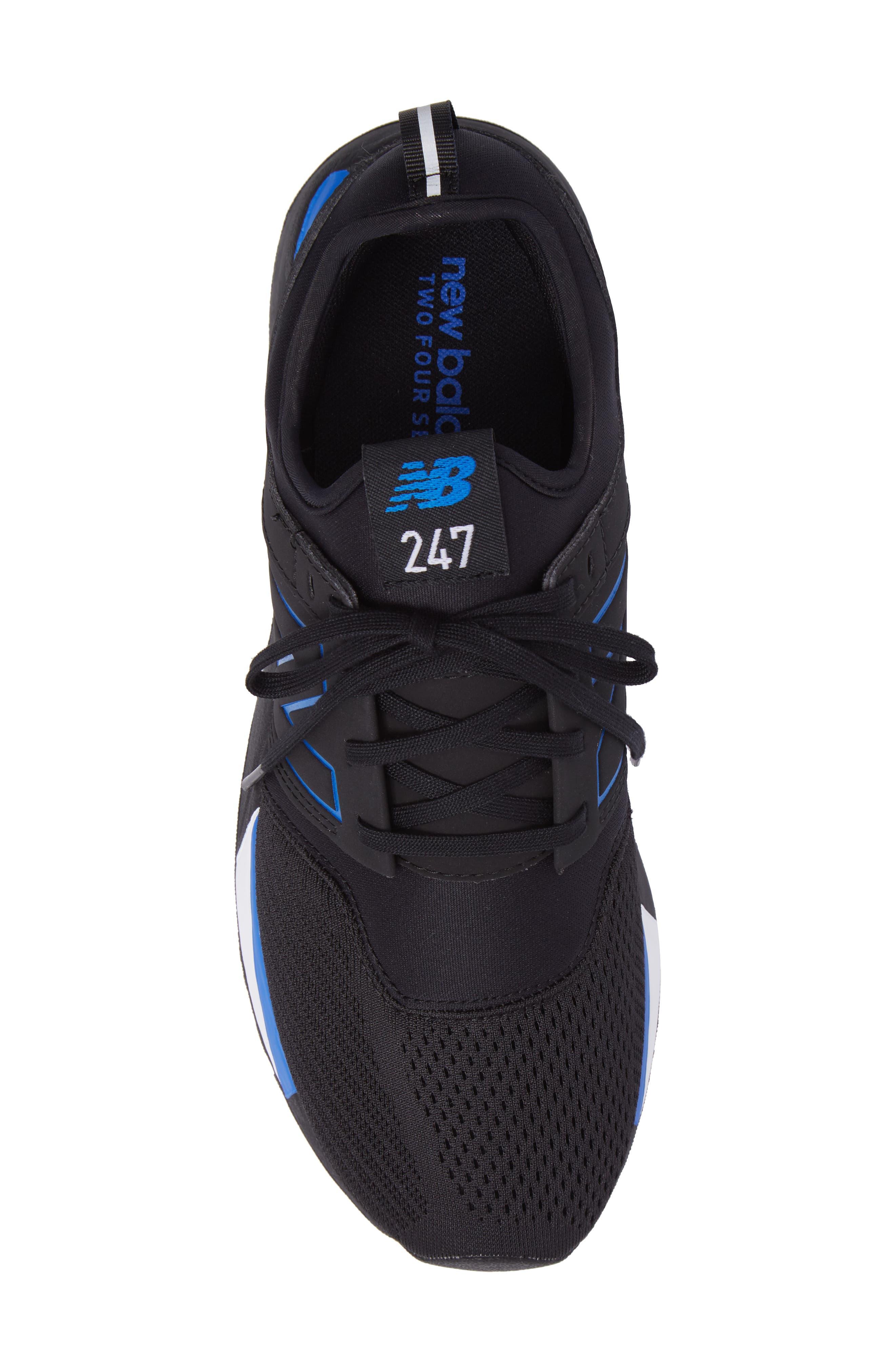 247 Sneaker,                             Alternate thumbnail 5, color,                             Black