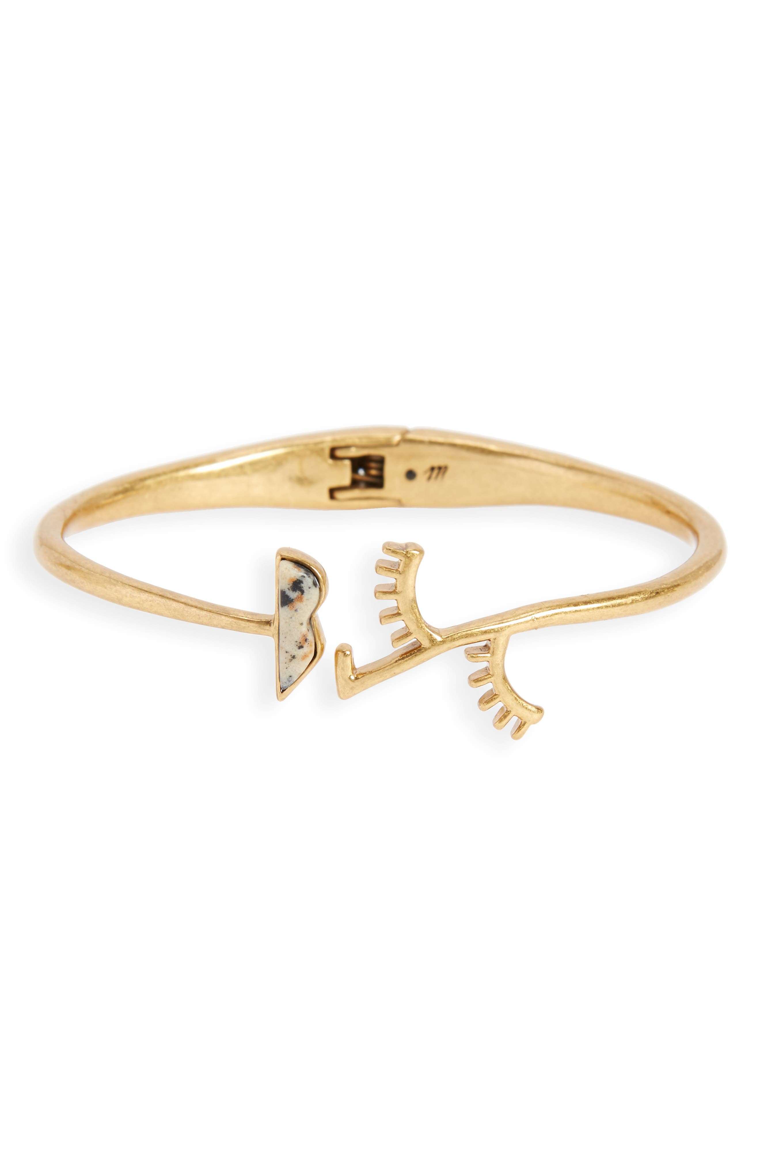 Madewell Face Value Hinge Bracelet