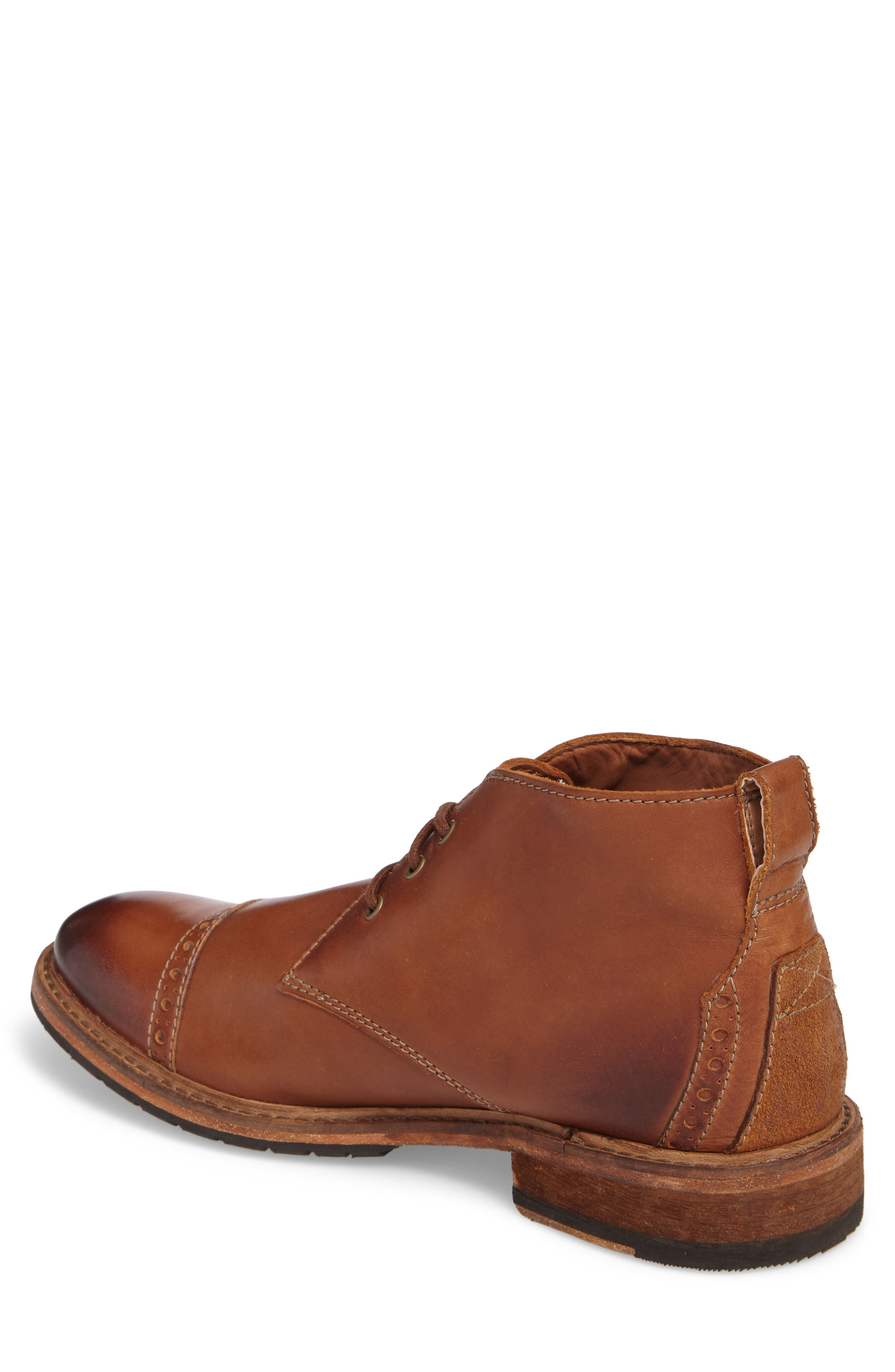 Clarkdale Water Resistant Chukka Boot,                             Alternate thumbnail 2, color,                             Dark Tan Leather