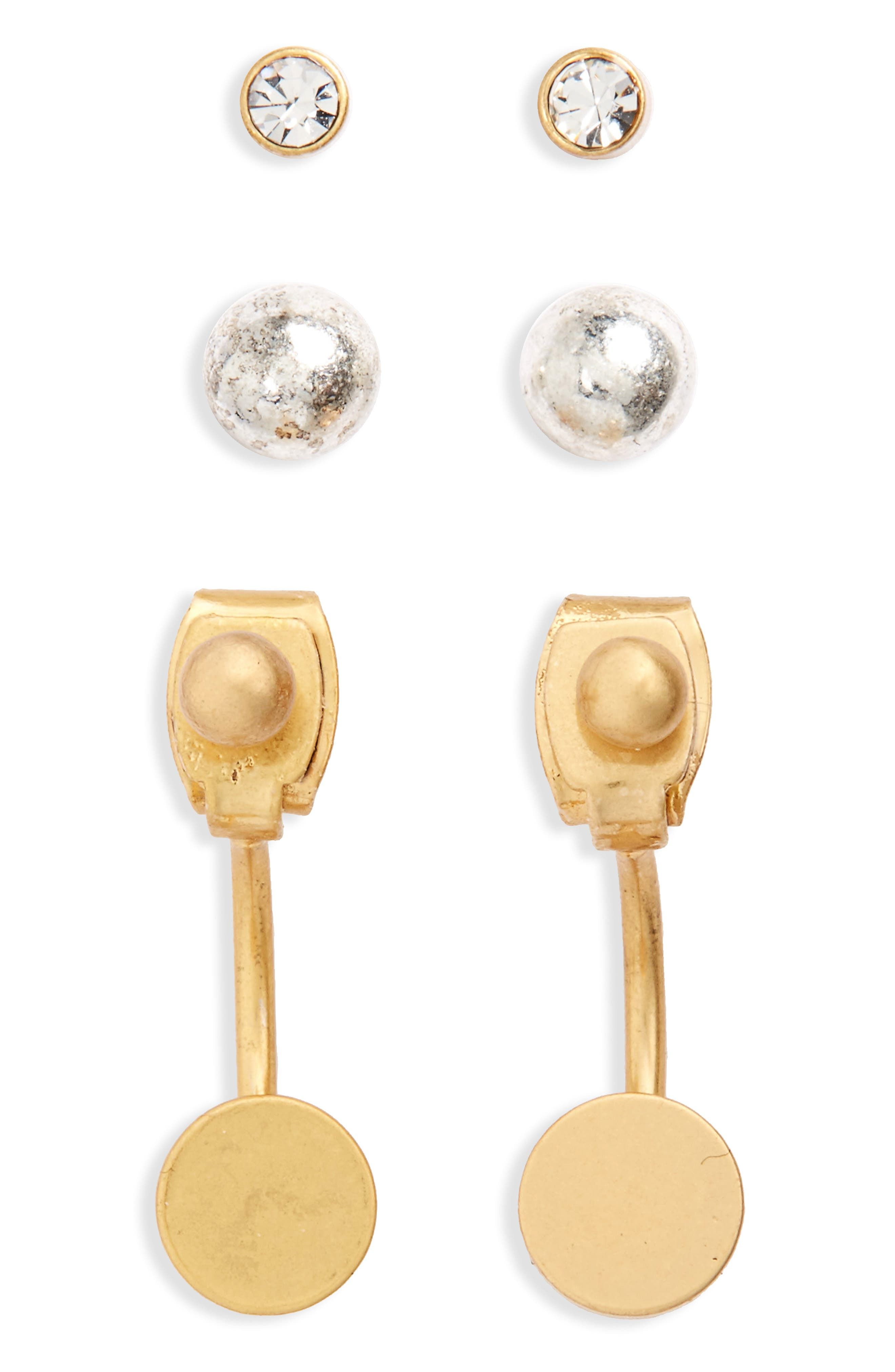 Madewell Set of 3 Earrings