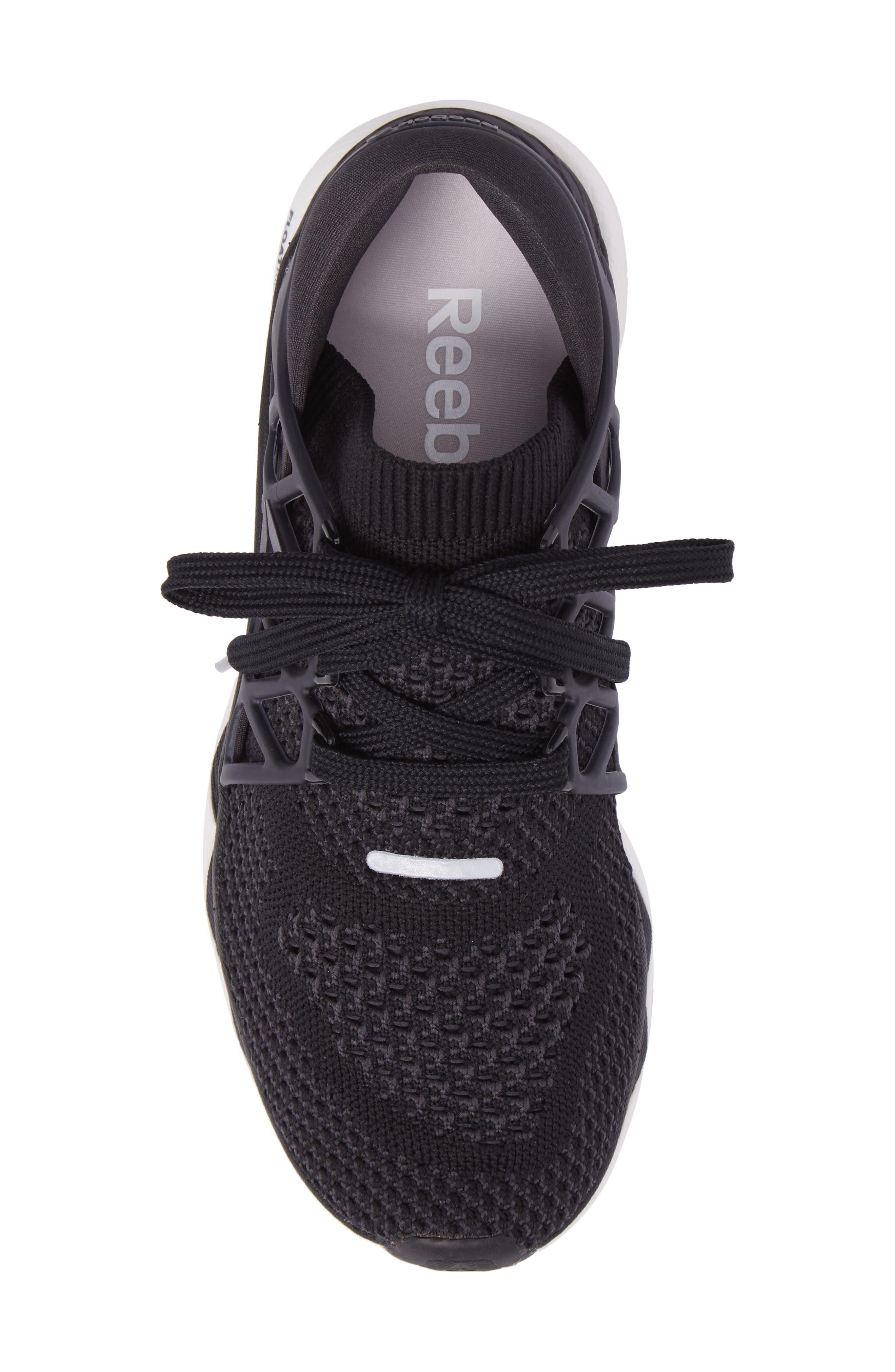 Floatride Run Running Shoe,                             Alternate thumbnail 5, color,                             Black/ Gravel/ White