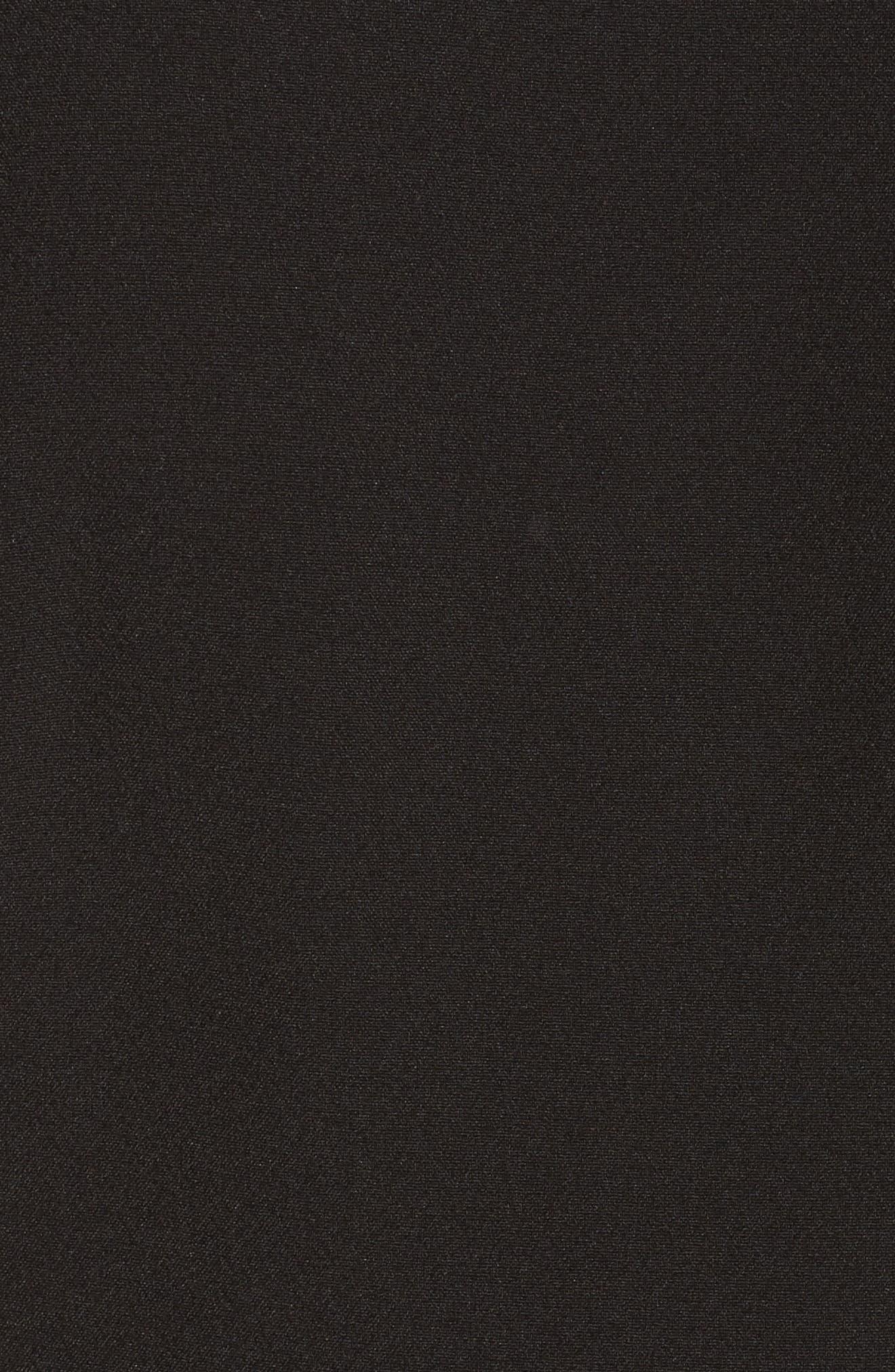 Halter Jumpsuit,                             Alternate thumbnail 5, color,                             Black