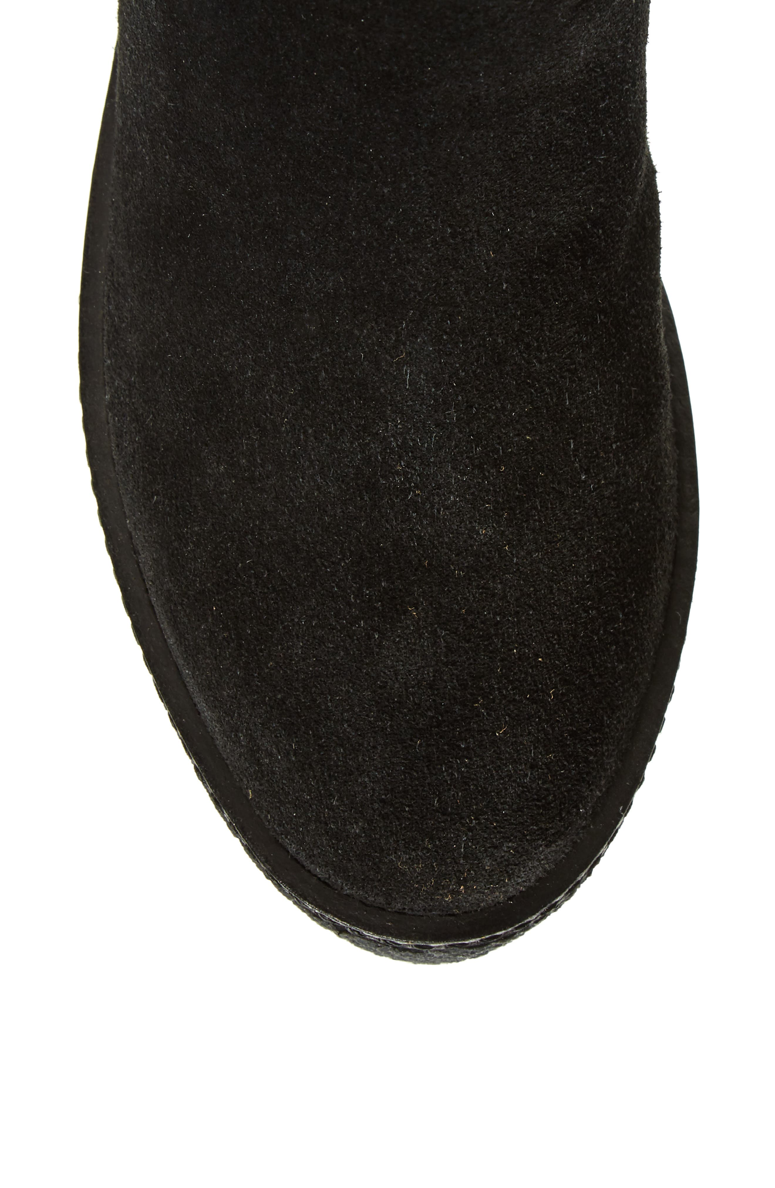 Tazza Over the Knee Boot,                             Alternate thumbnail 5, color,                             Black Suede
