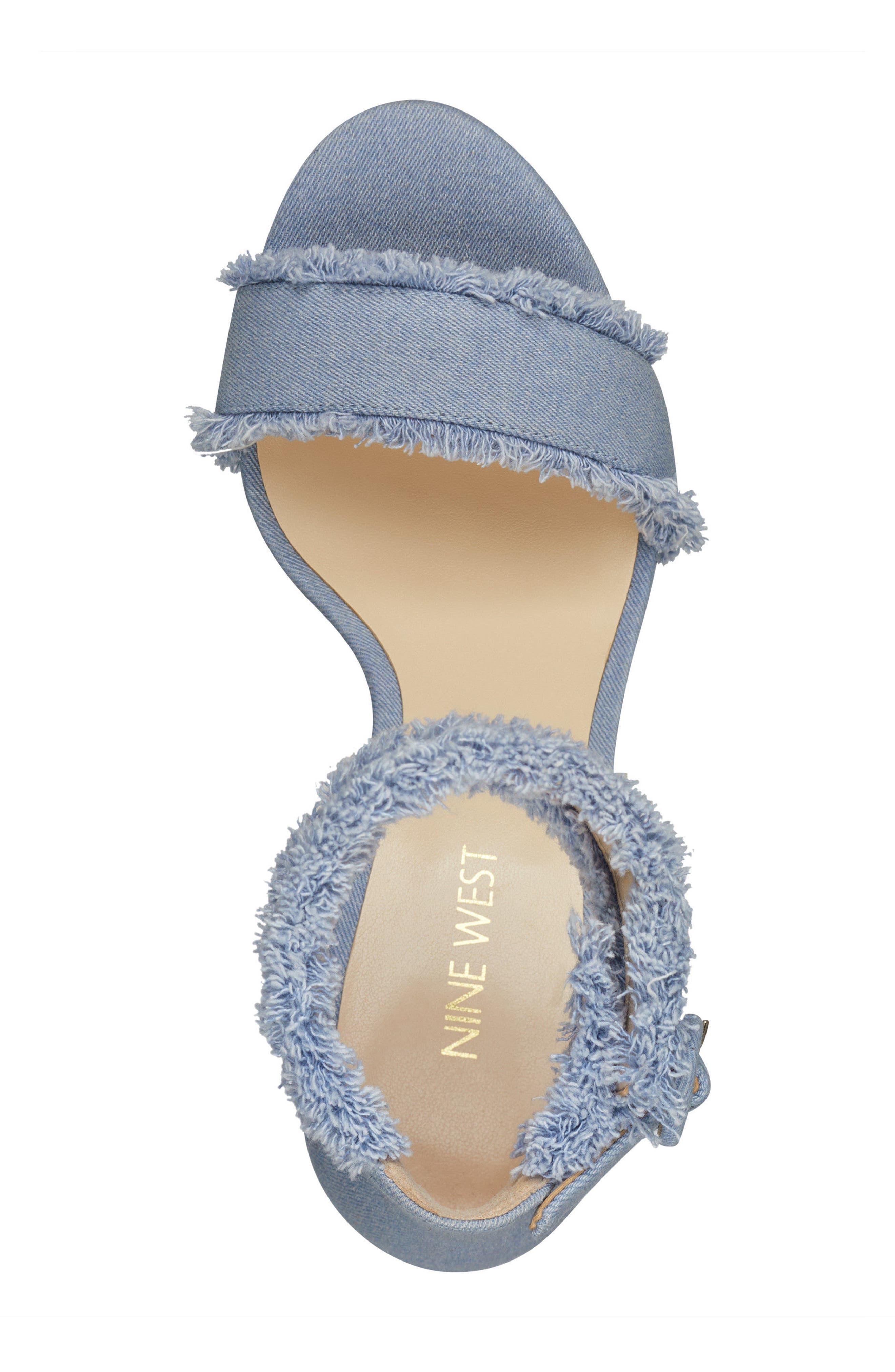 Alternate Image 5  - Nine West Daranita Ankle Strap Sandal (Women)