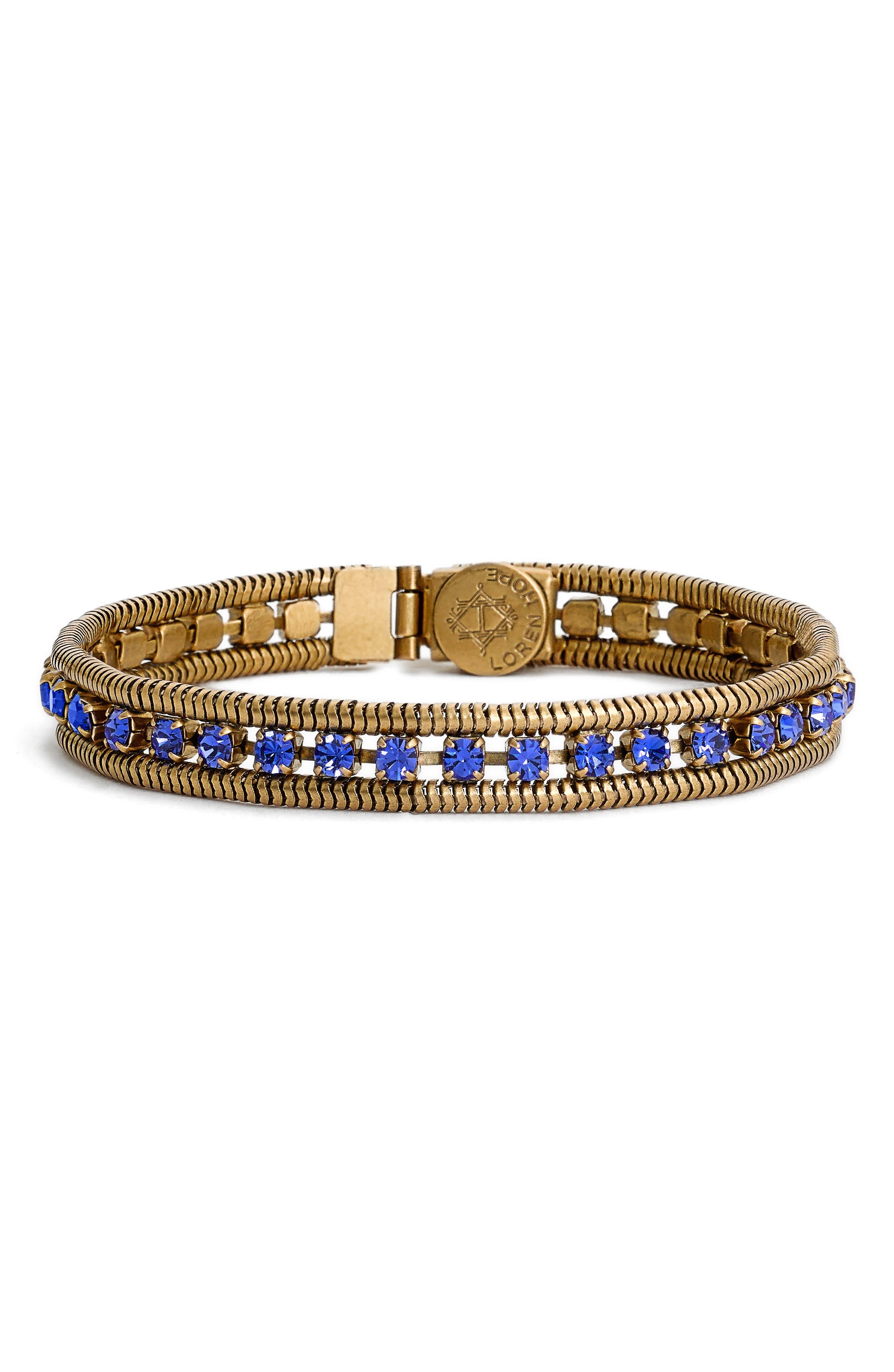 Loren Hope 'Clara' Crystal Bracelet