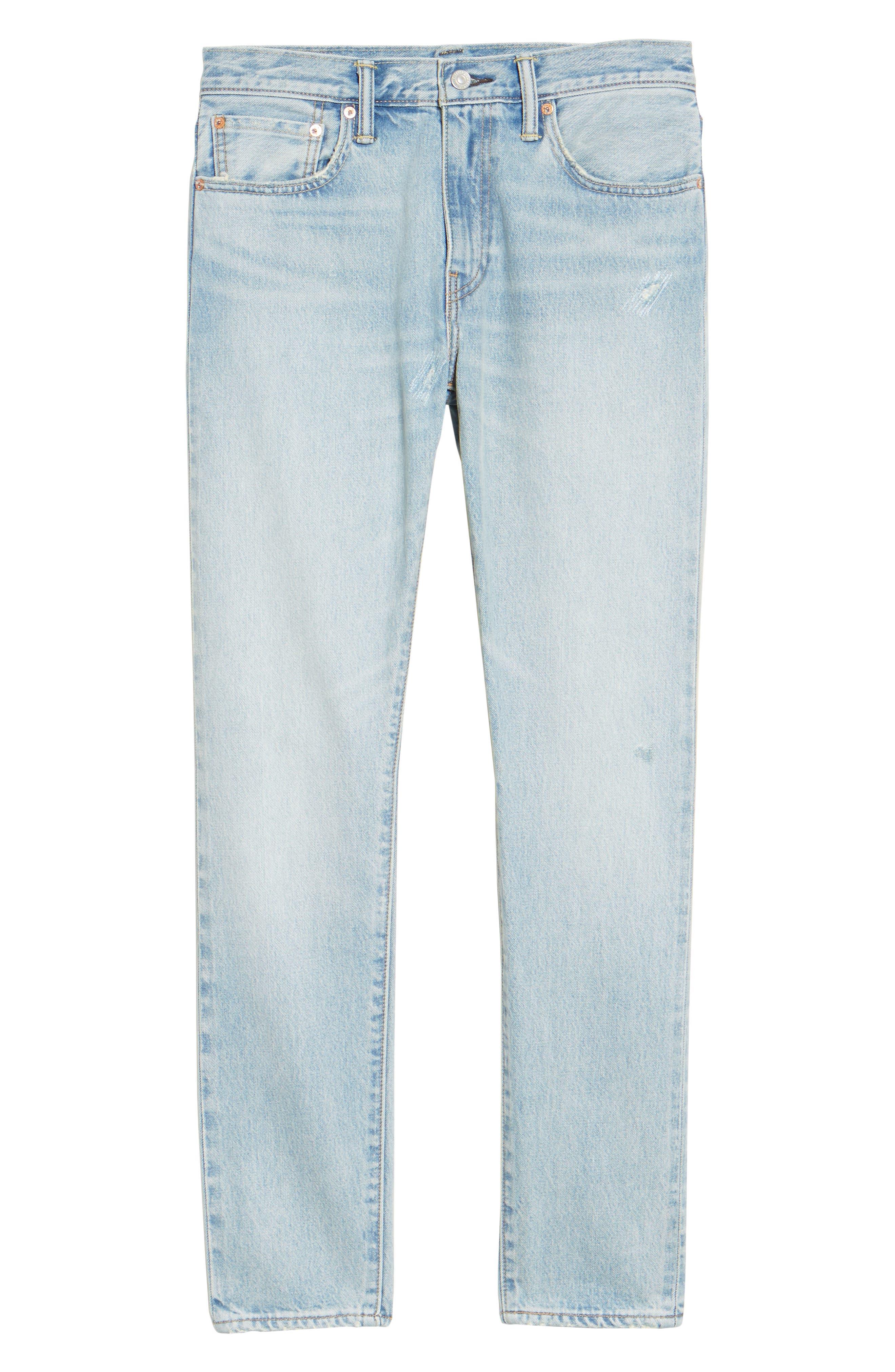 Alternate Image 6  - Levi's® 512™ Skinny Fit Crop Jeans (Medium Blue Surf Ave)
